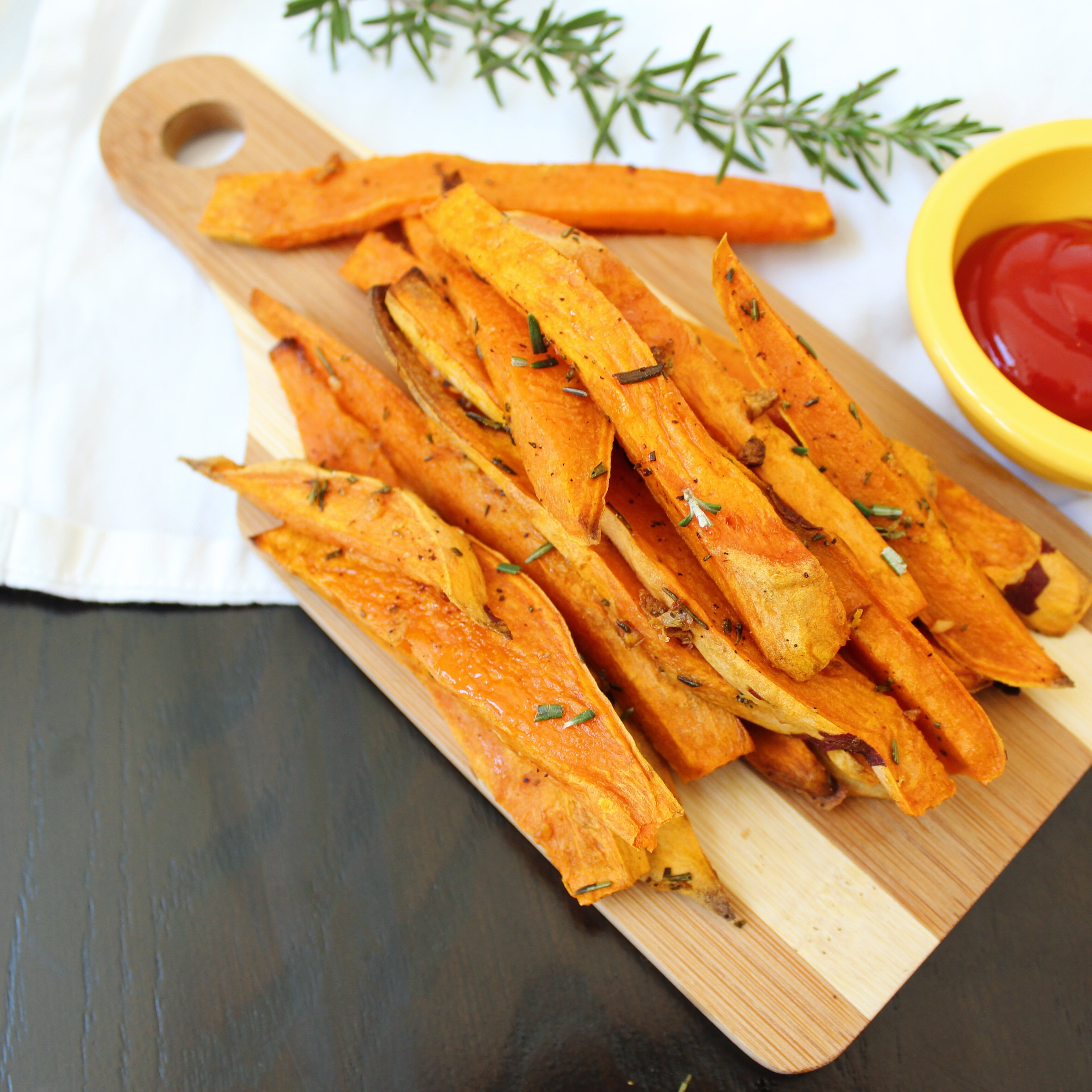 roasted sweet potato wedges recipe