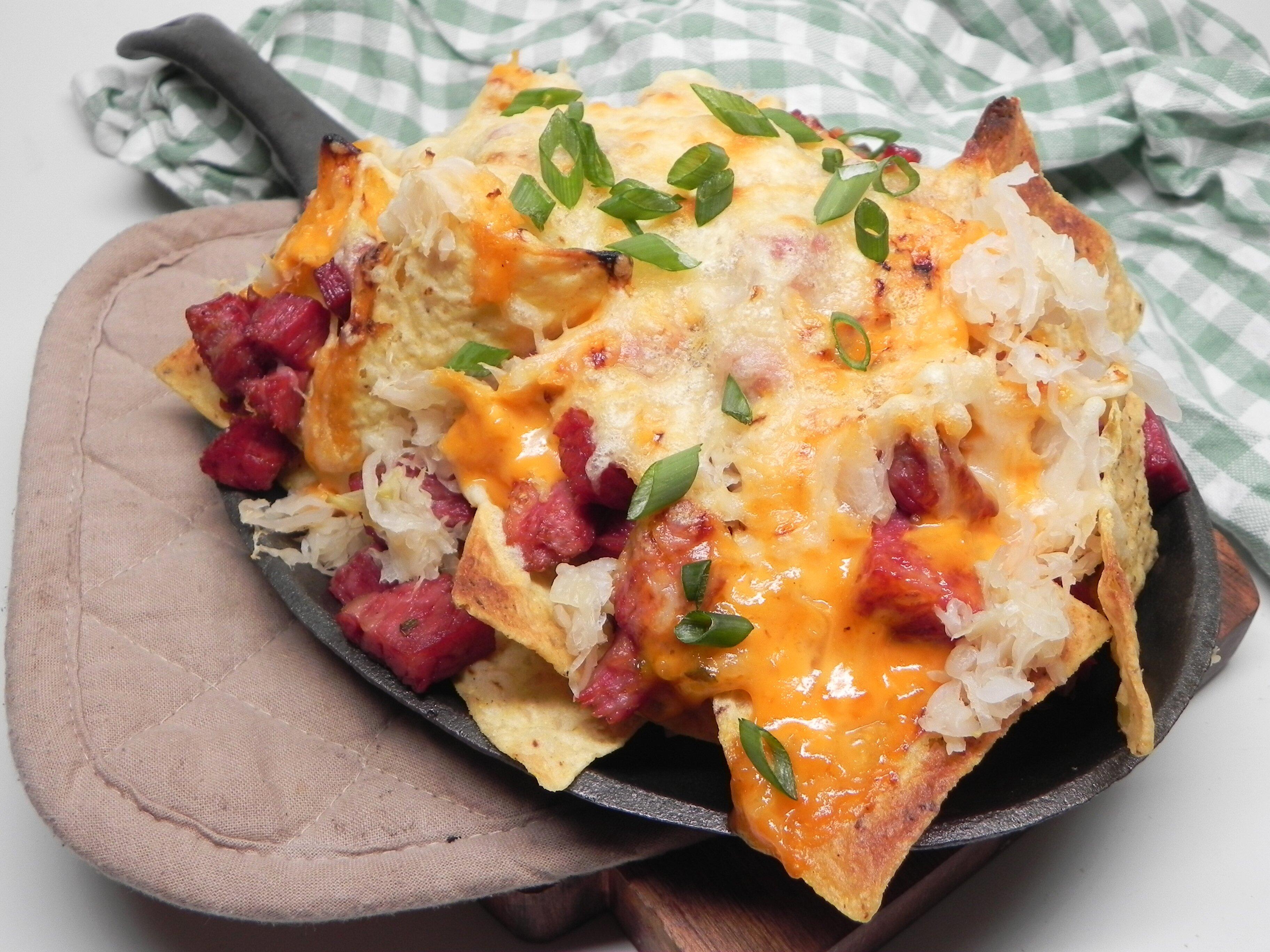 reuben nachos for two recipe