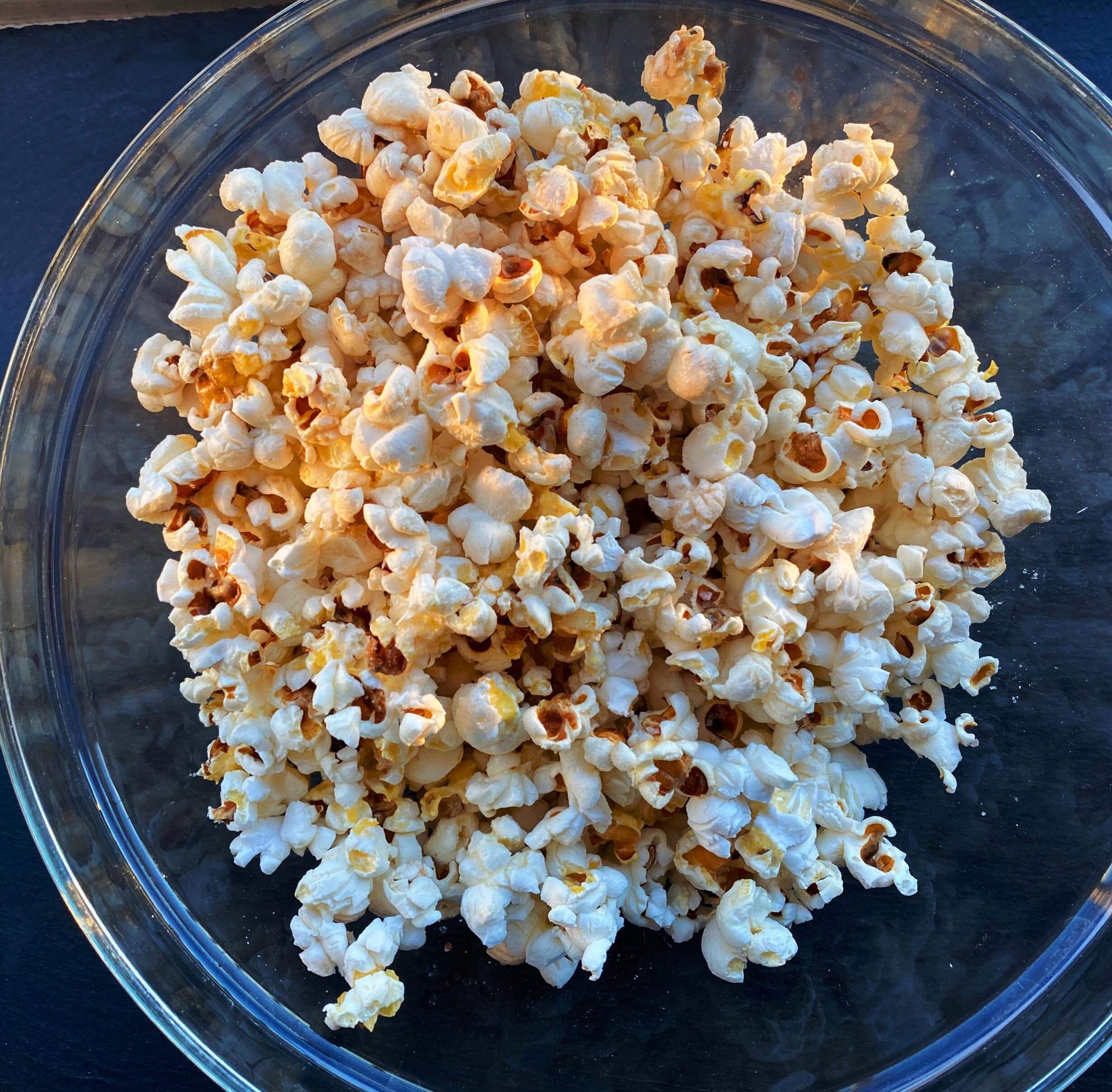 instant pot popcorn recipe