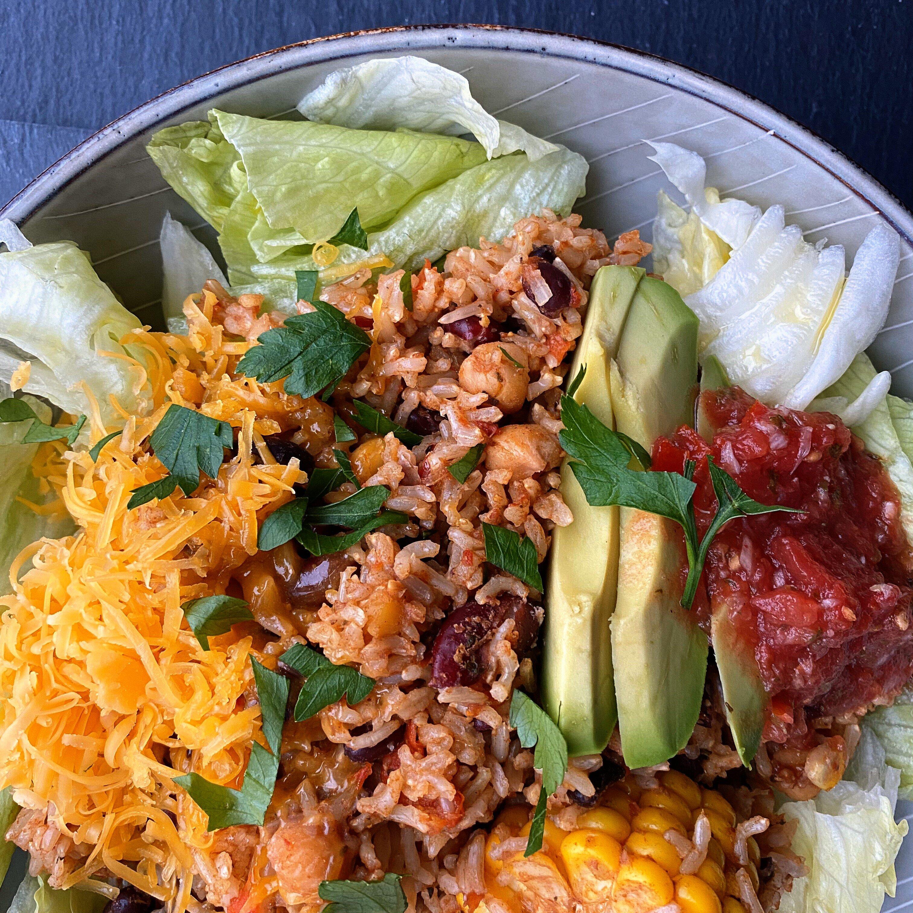 instant pot vegan tex mex bowls recipe