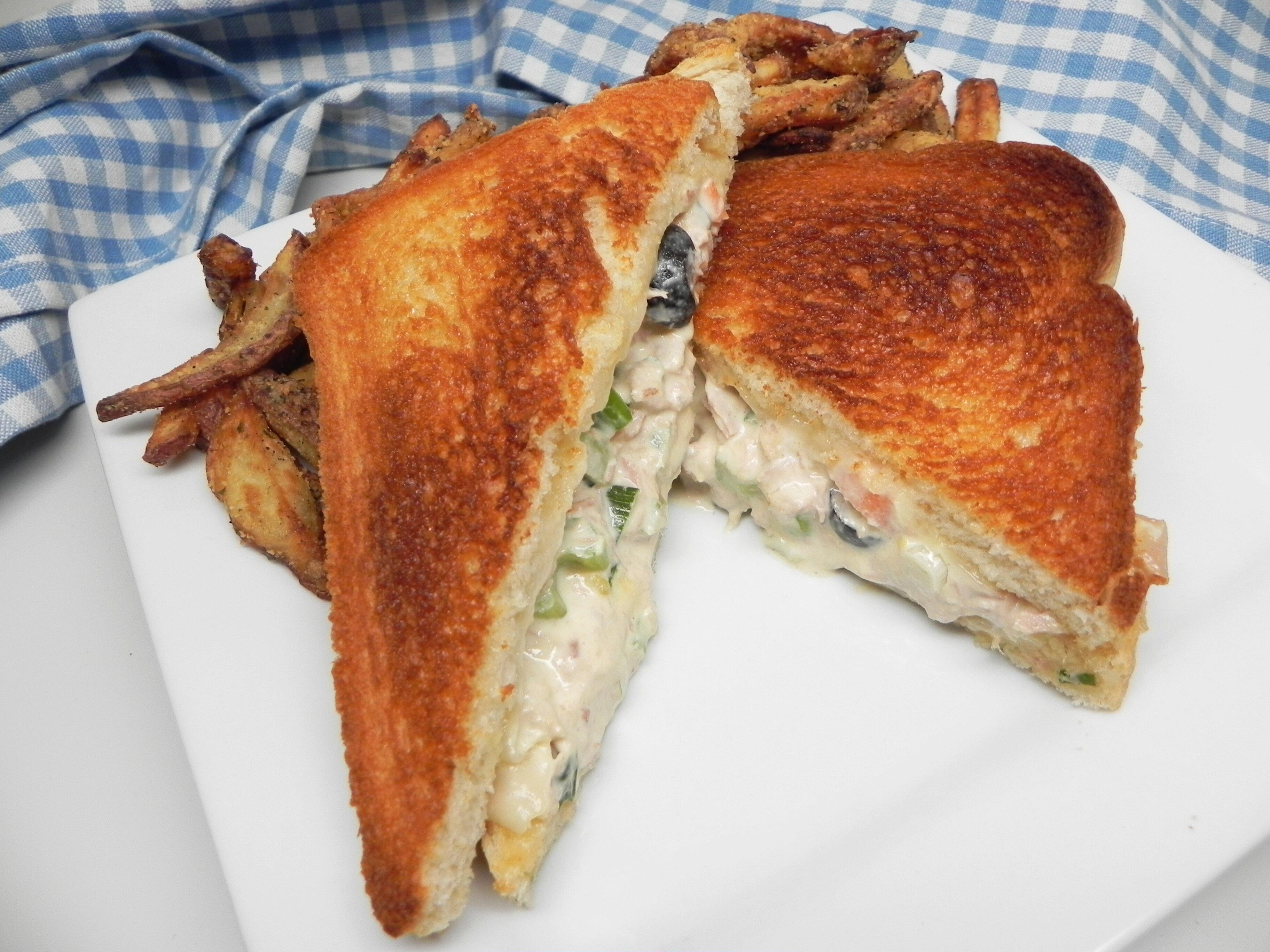 tuna melt with egg recipe