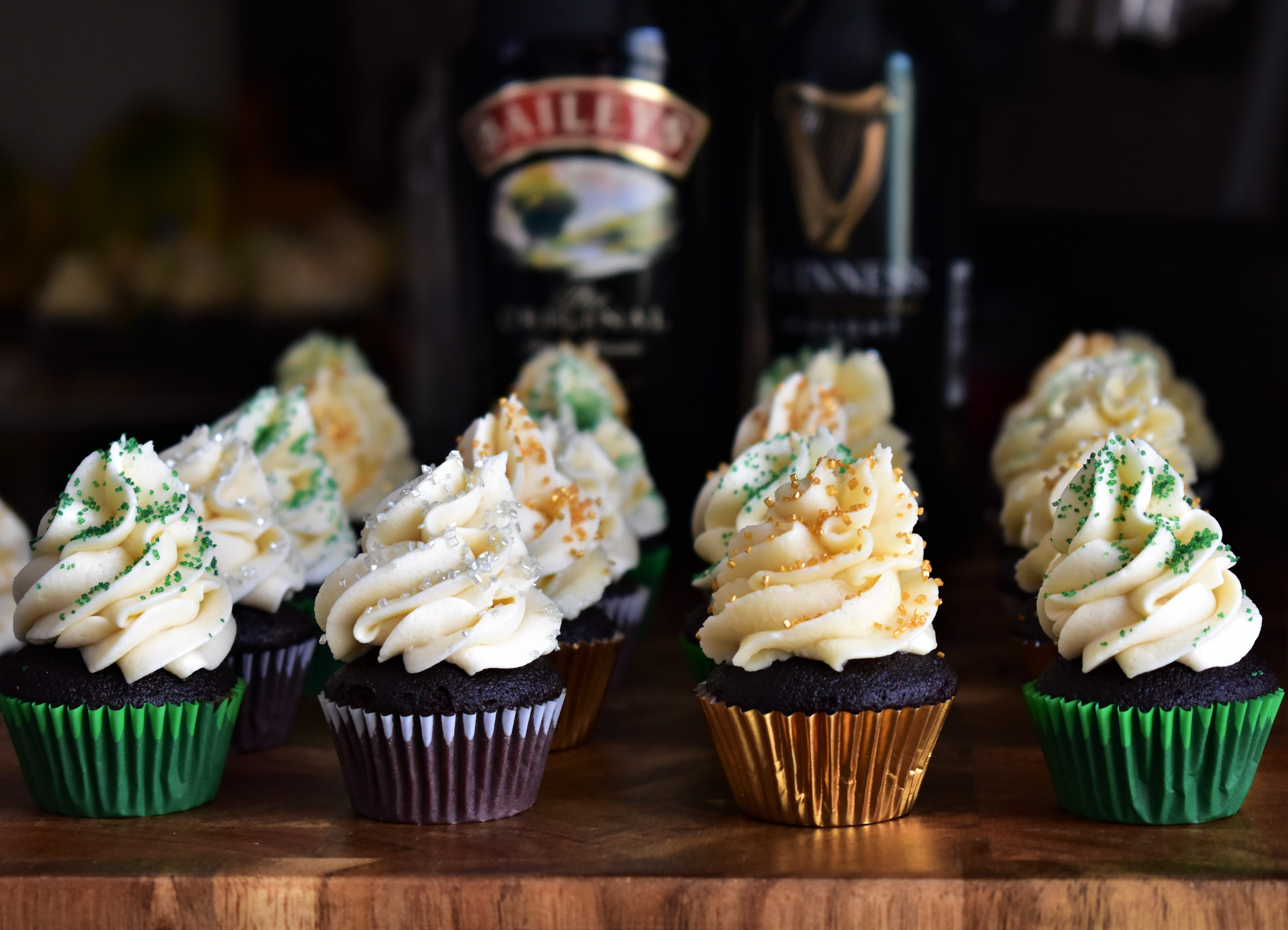 chocolate guinness cupcakes with irish cream frosting recipe