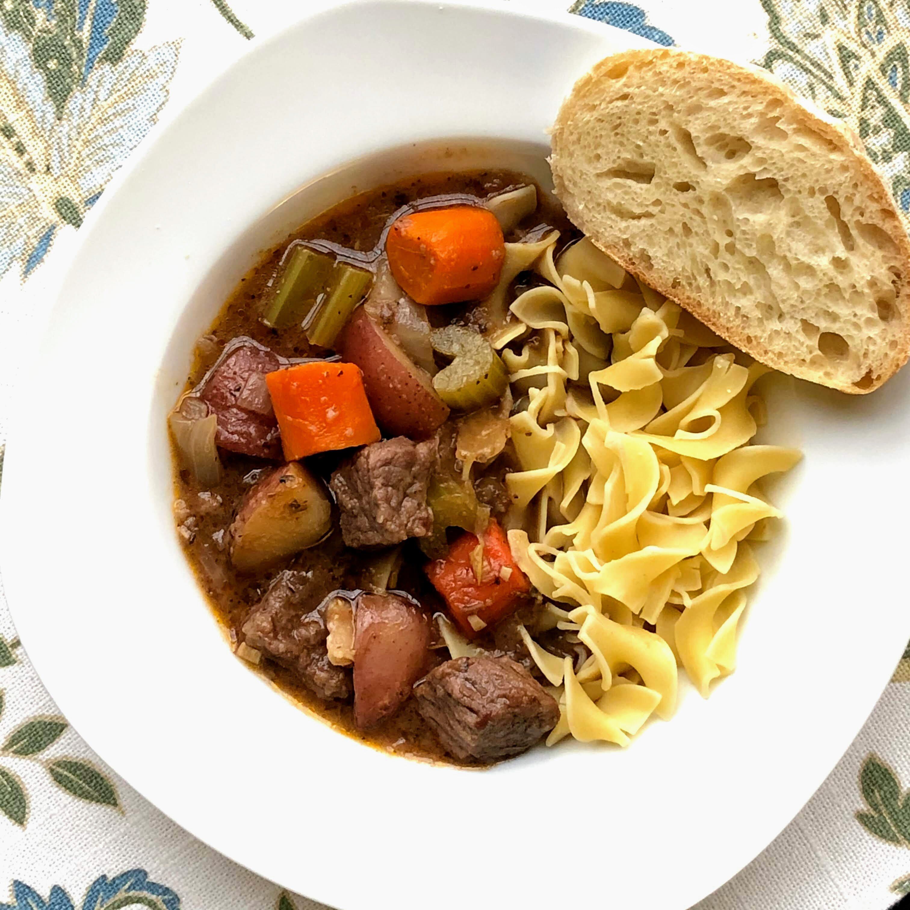 instant pot beef stew with red wine recipe