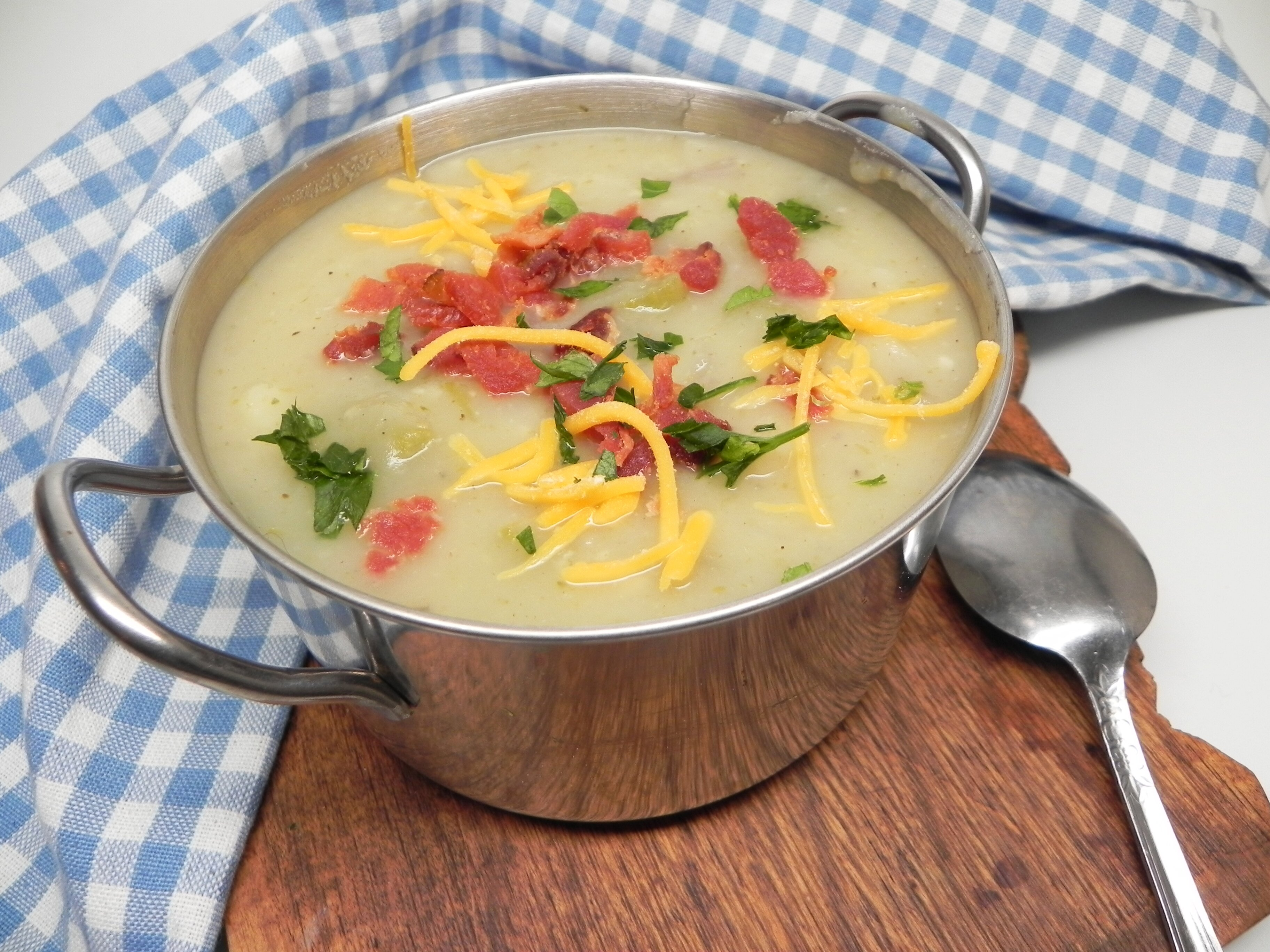 celery potato soup recipe