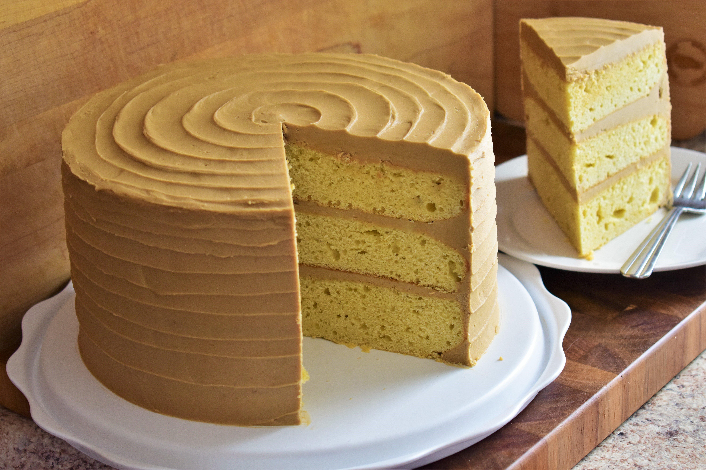Brilliant Caramel Cake Allrecipes Personalised Birthday Cards Arneslily Jamesorg