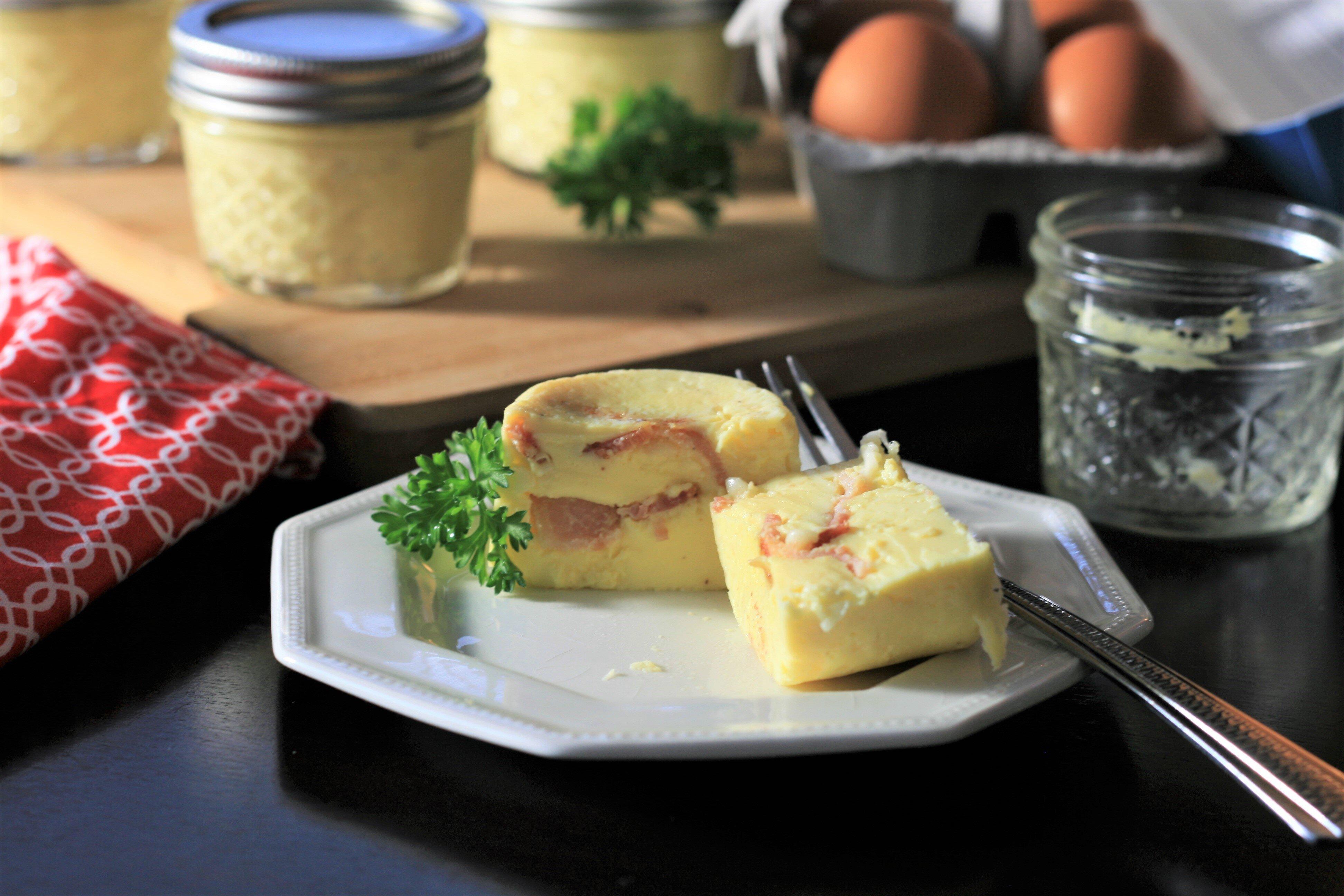 bacon and gruyere sous vide egg bites recipe