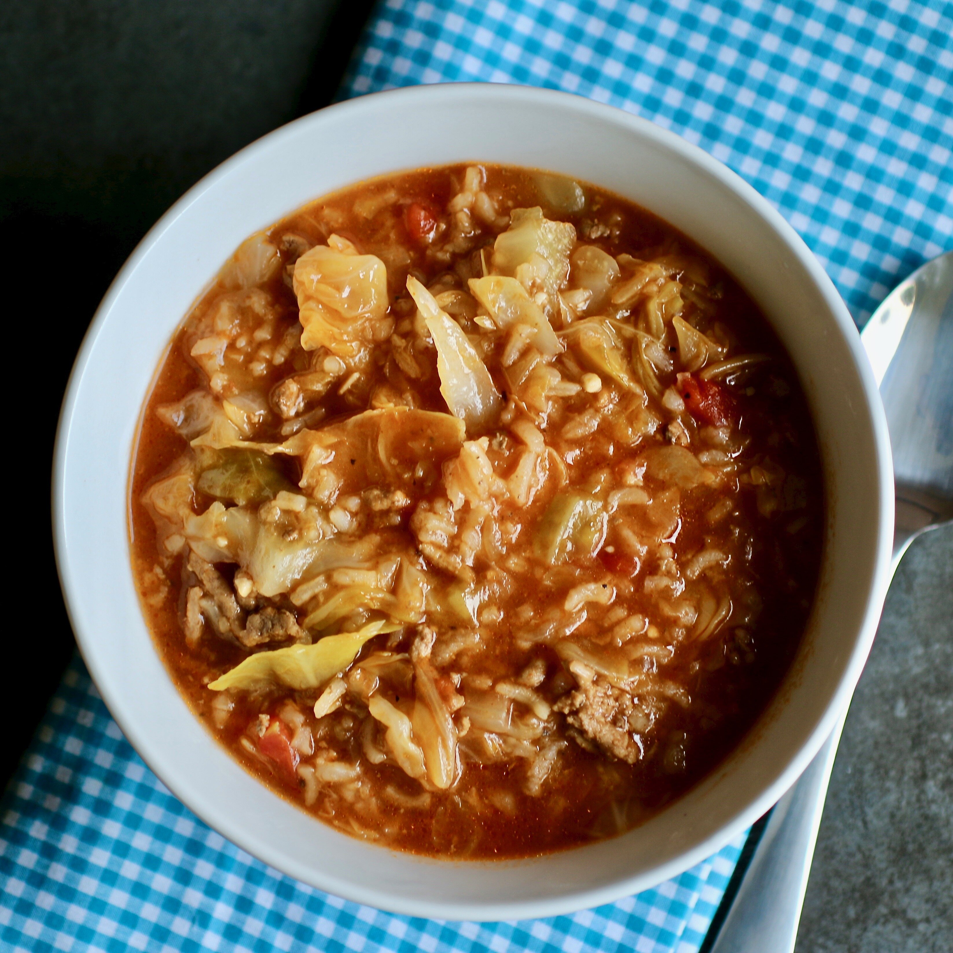 instant pot cabbage roll soup recipe