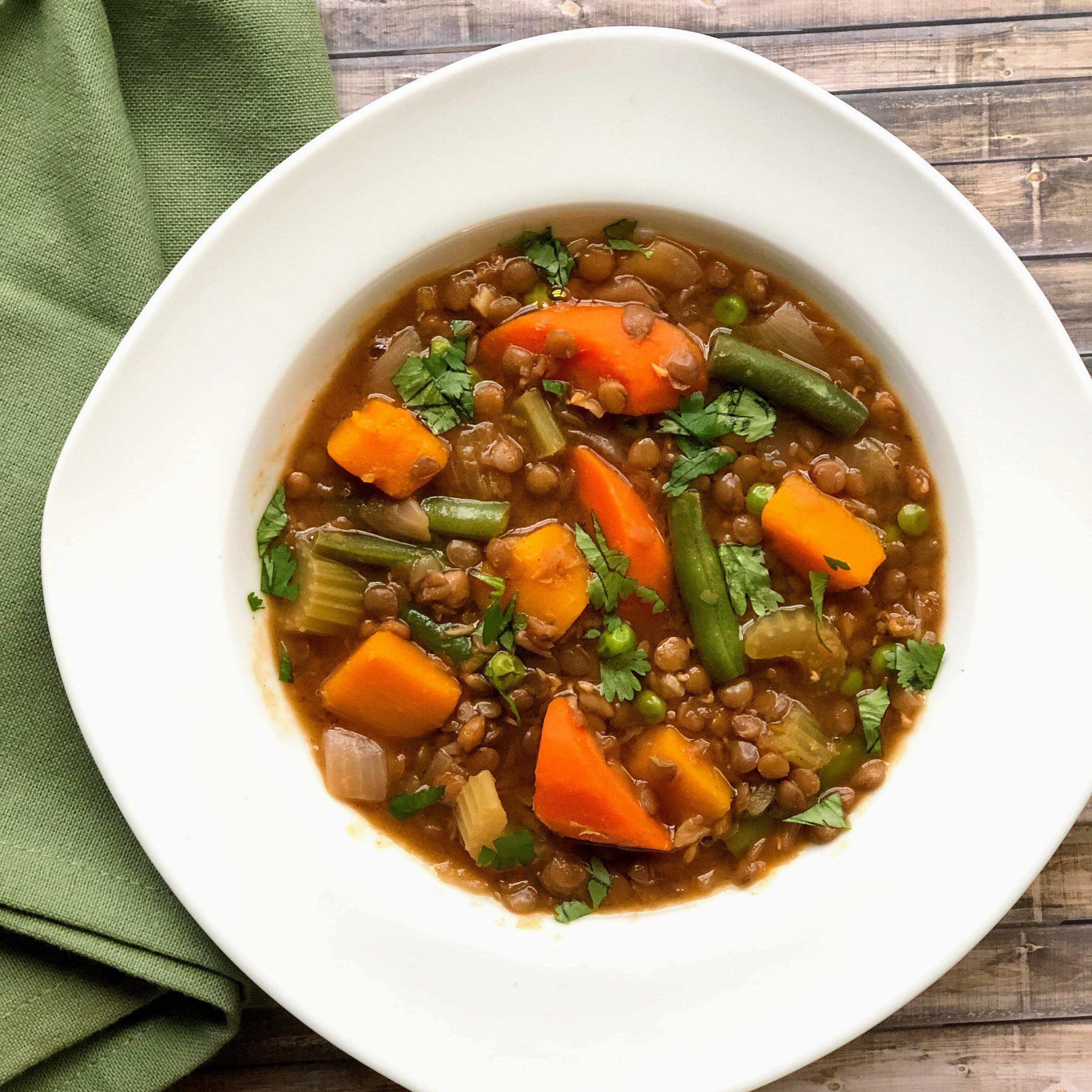 moroccan lentil stew recipe