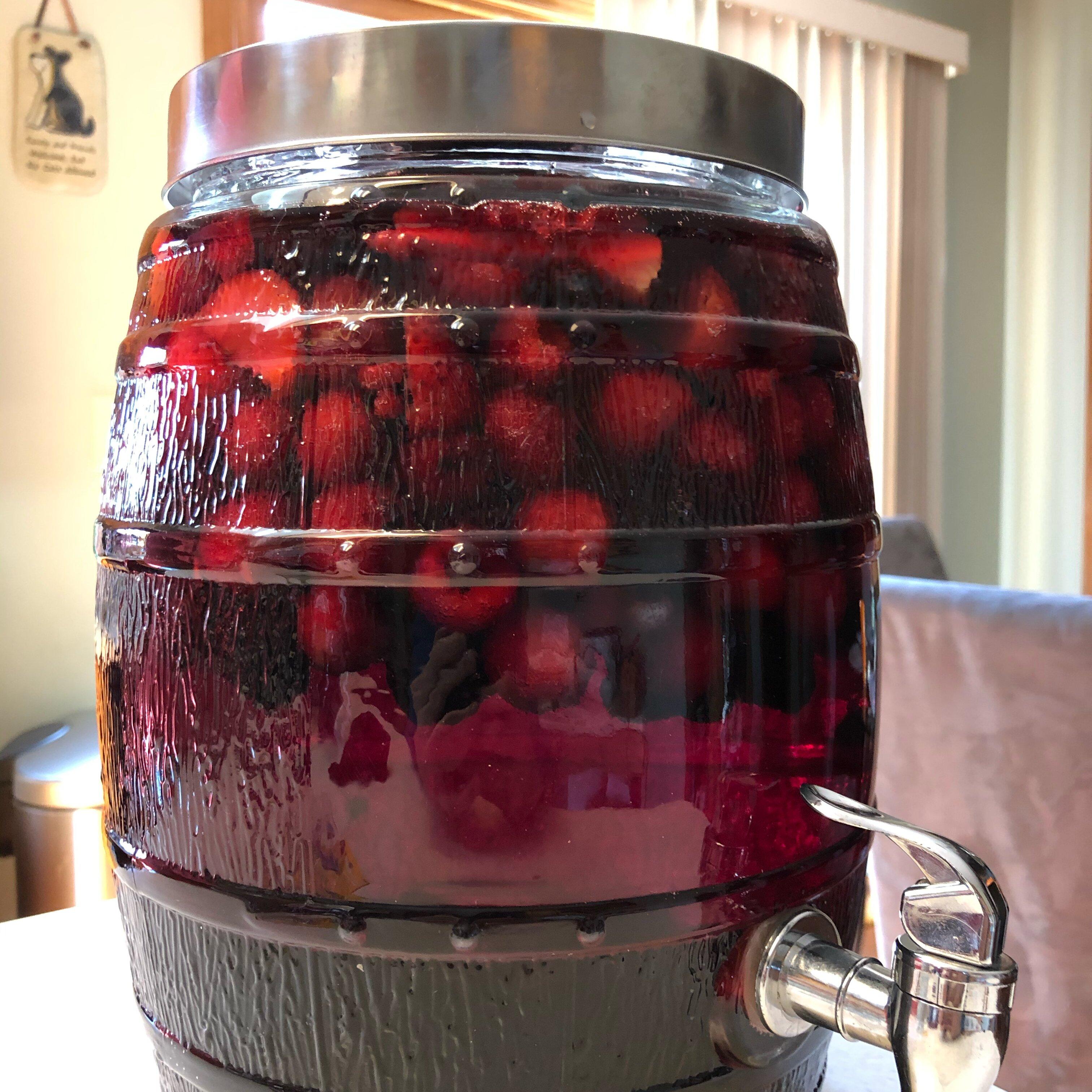easy berry sangria recipe
