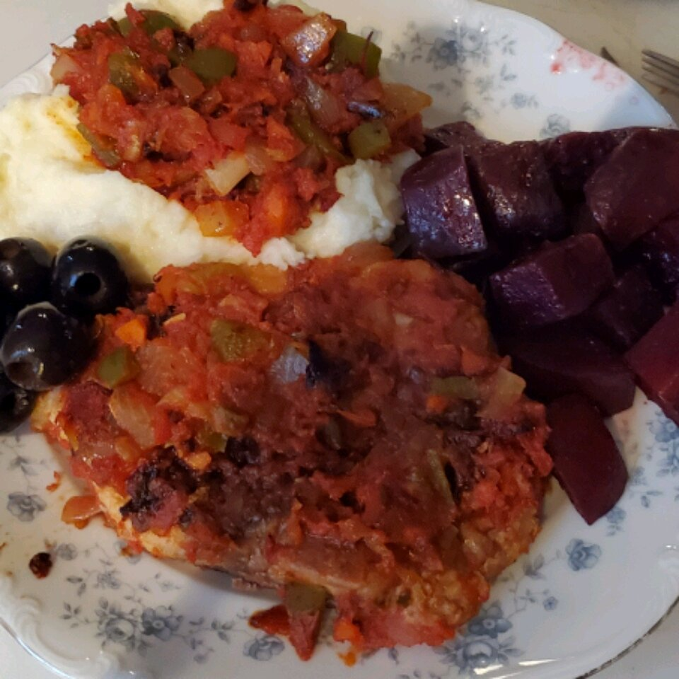 tomato pork chops i recipe