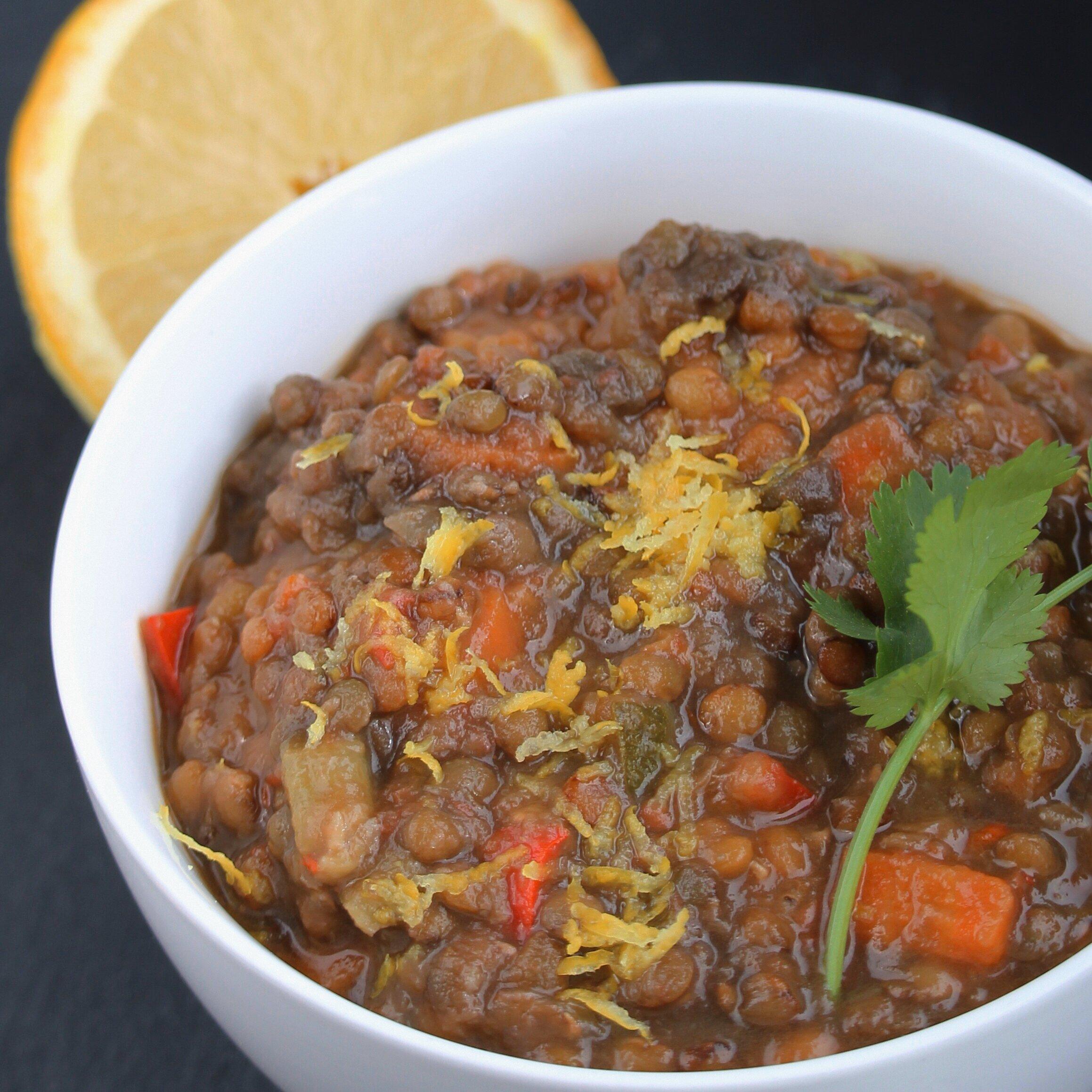 instant pot lentil vegetable soup recipe