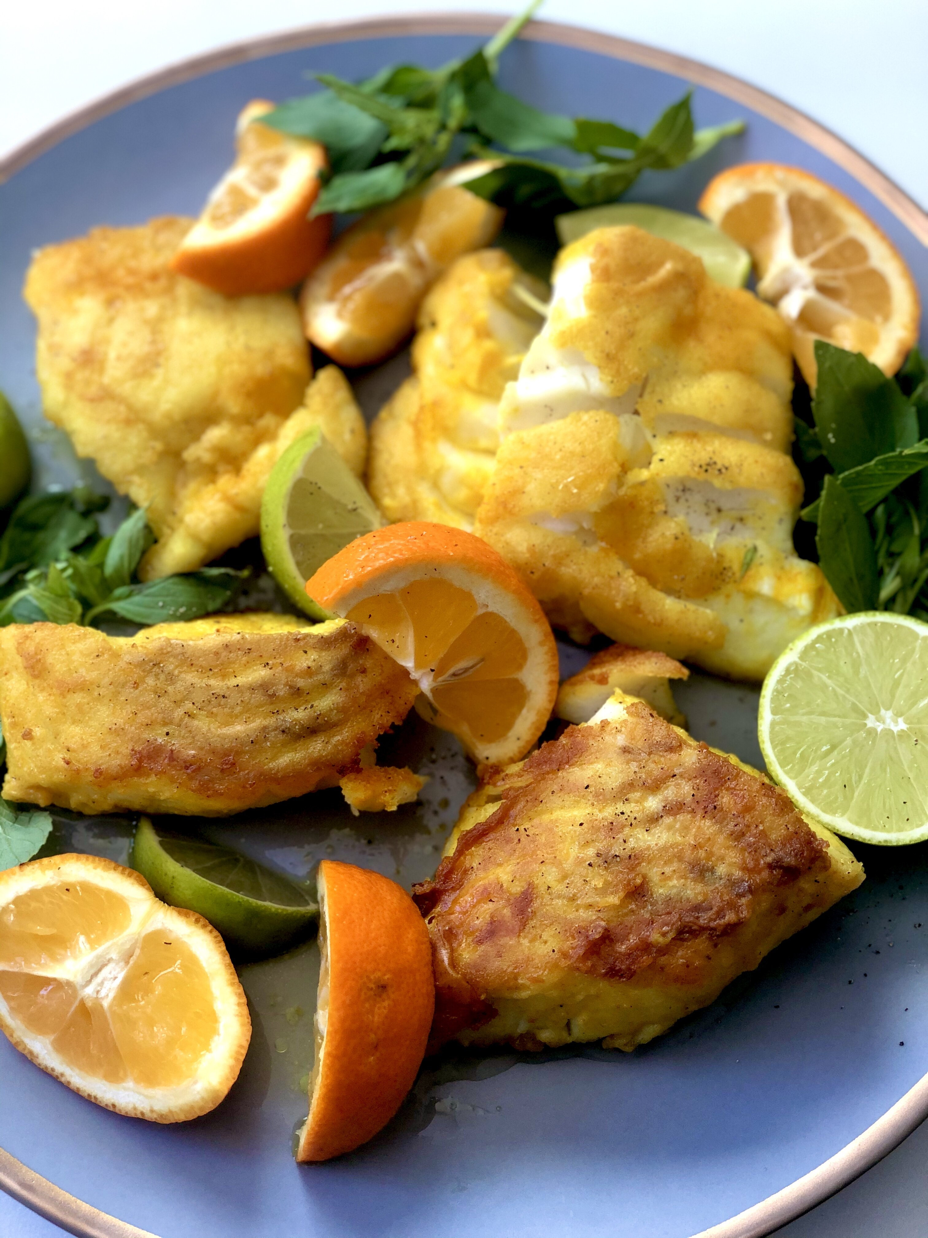 mahi sorkh shodeh persian fried fish recipe