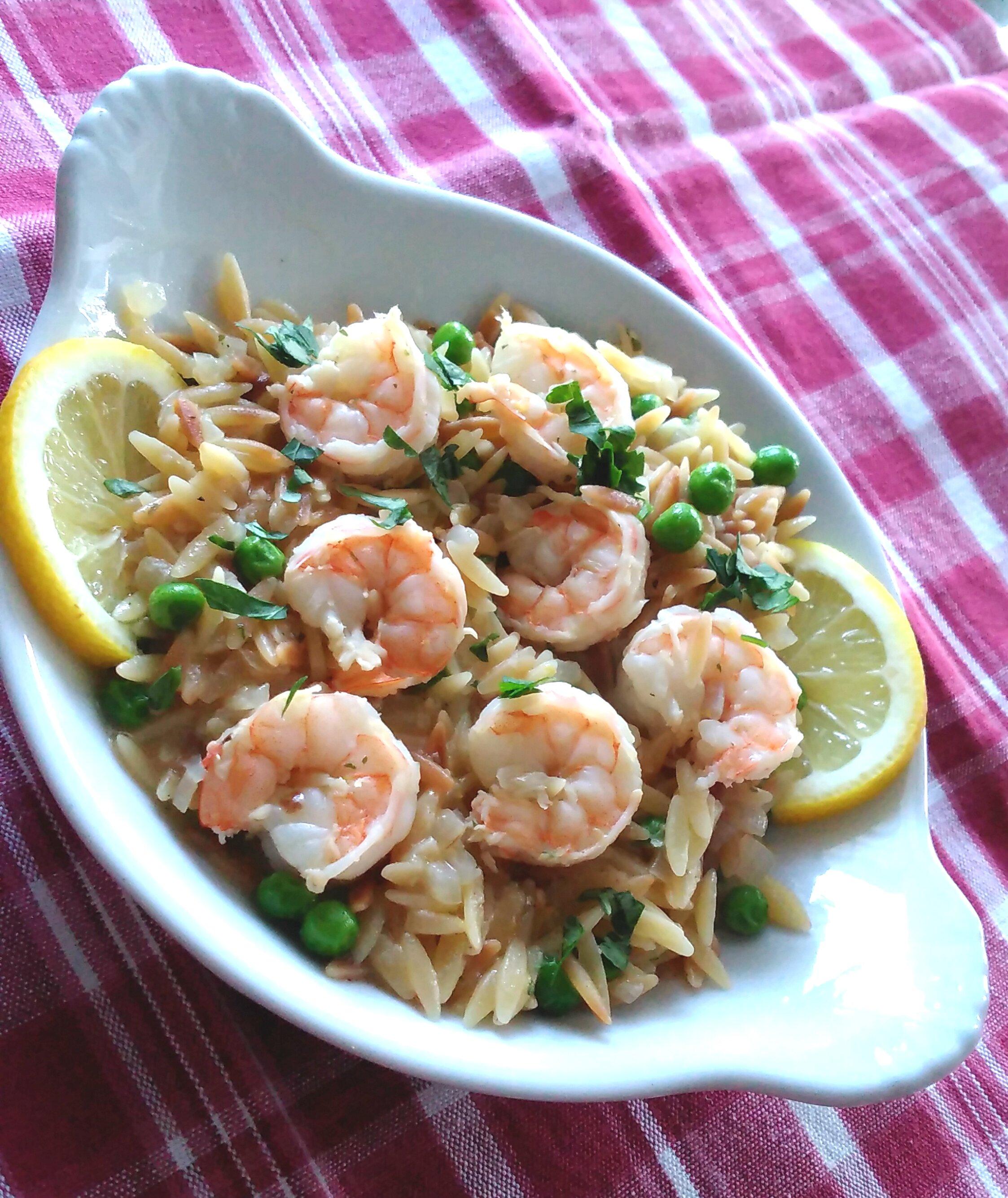 one pot shrimp scampi orzo recipe
