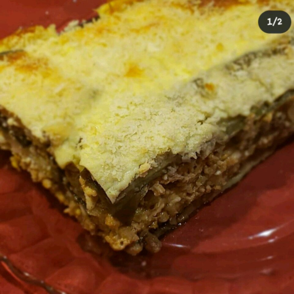 veal and eggplant moussaka recipe