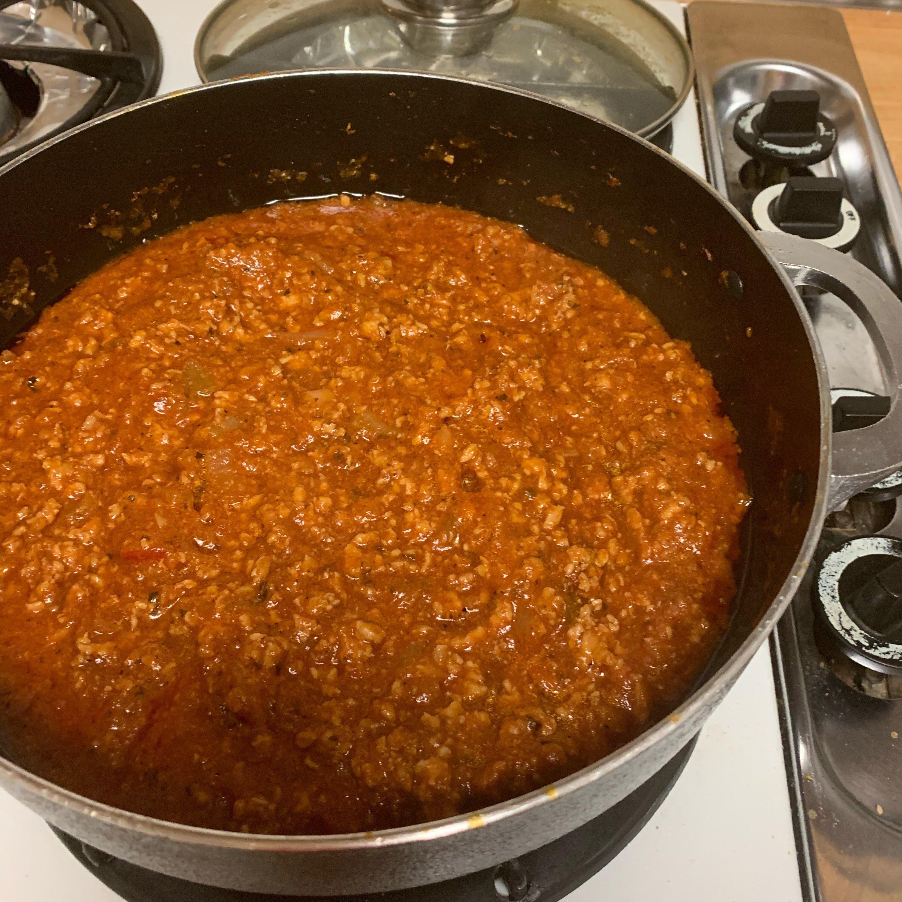 amazing ground turkey tomato sauce recipe