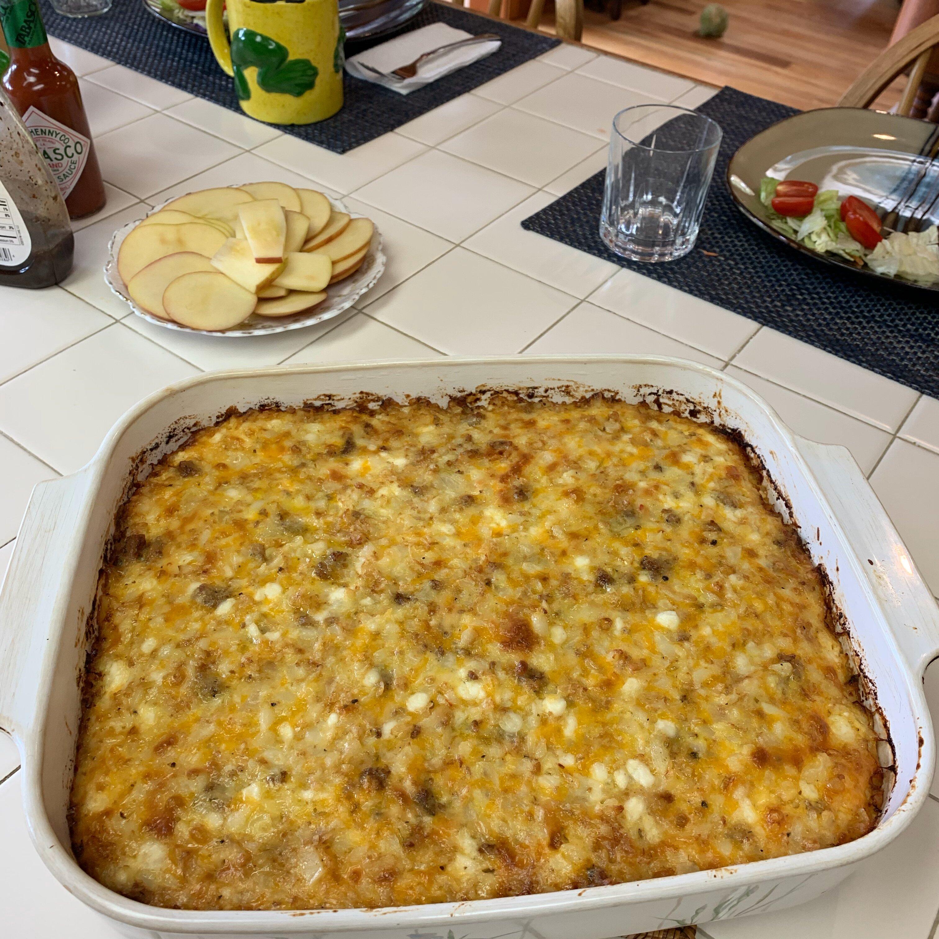 amish egg casserole recipe
