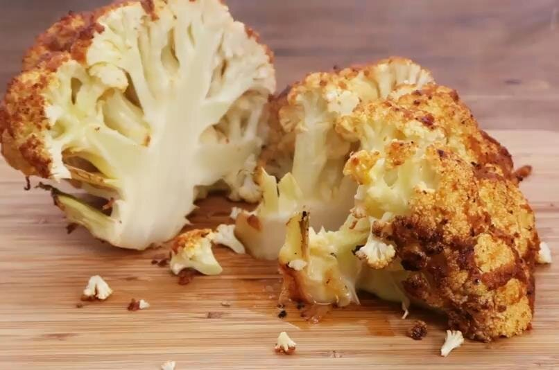 sriracha whole roasted cauliflower recipe