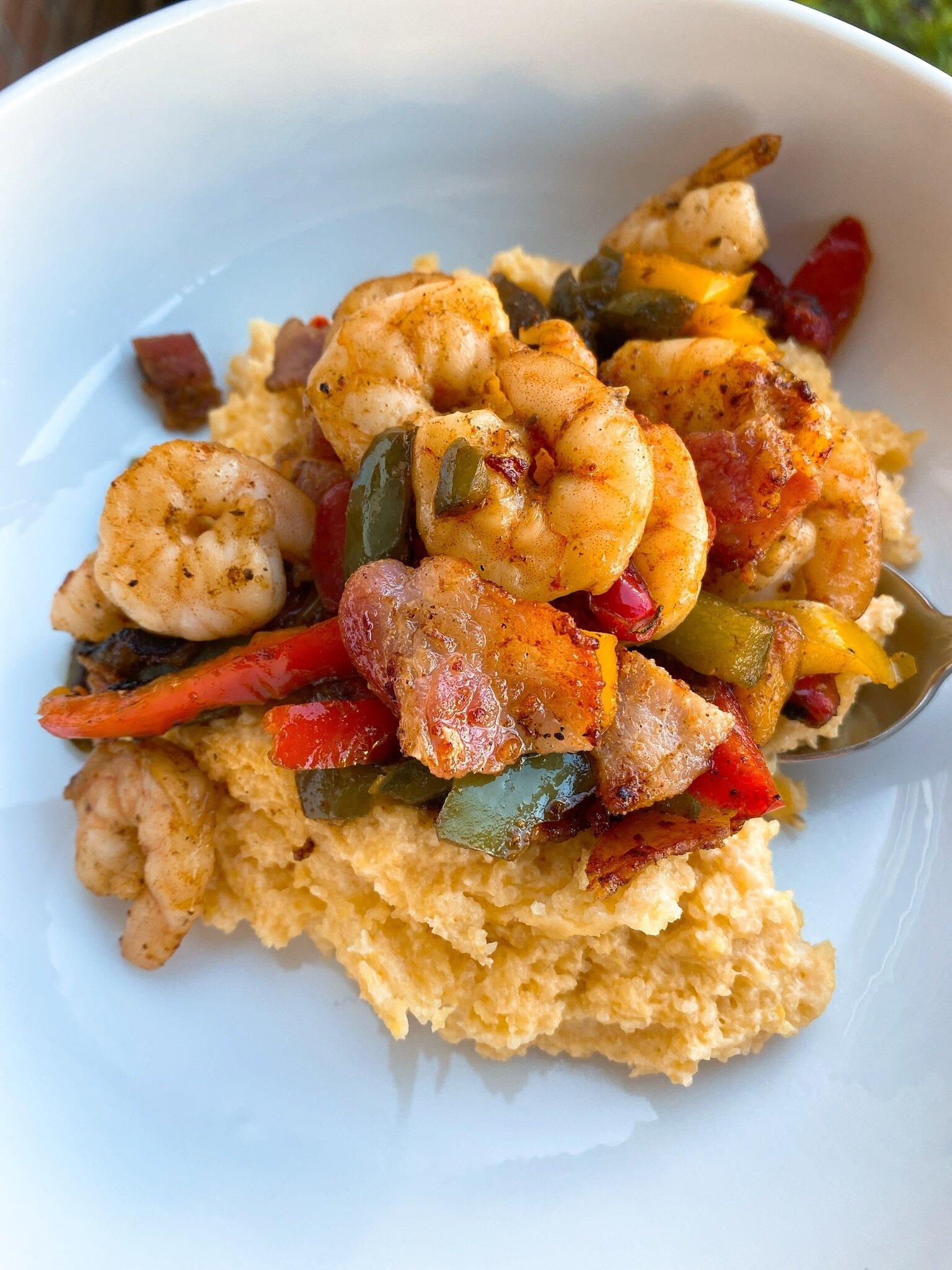 south of the border shrimp and grits recipe
