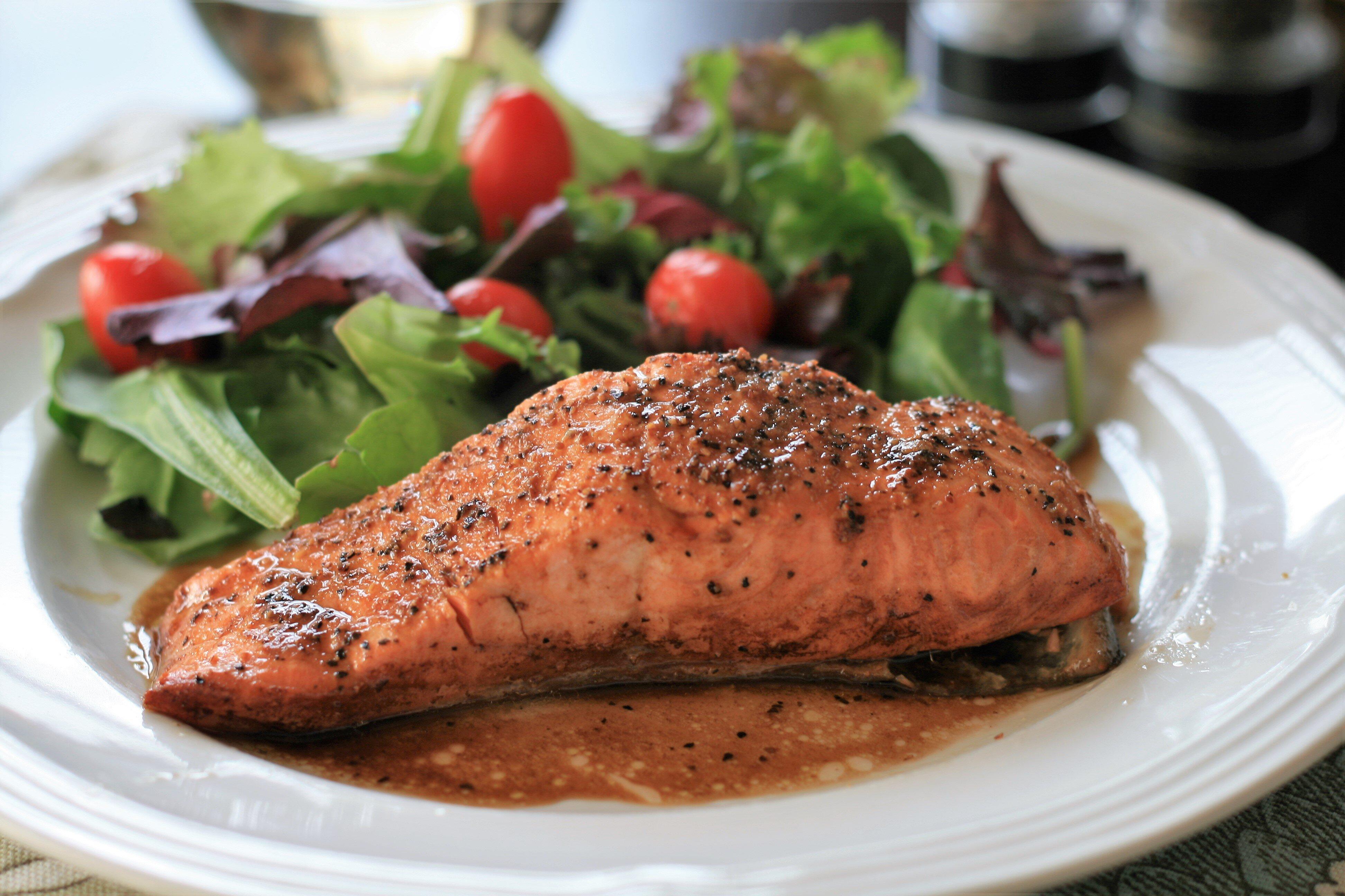 easy no mess baked salmon recipe