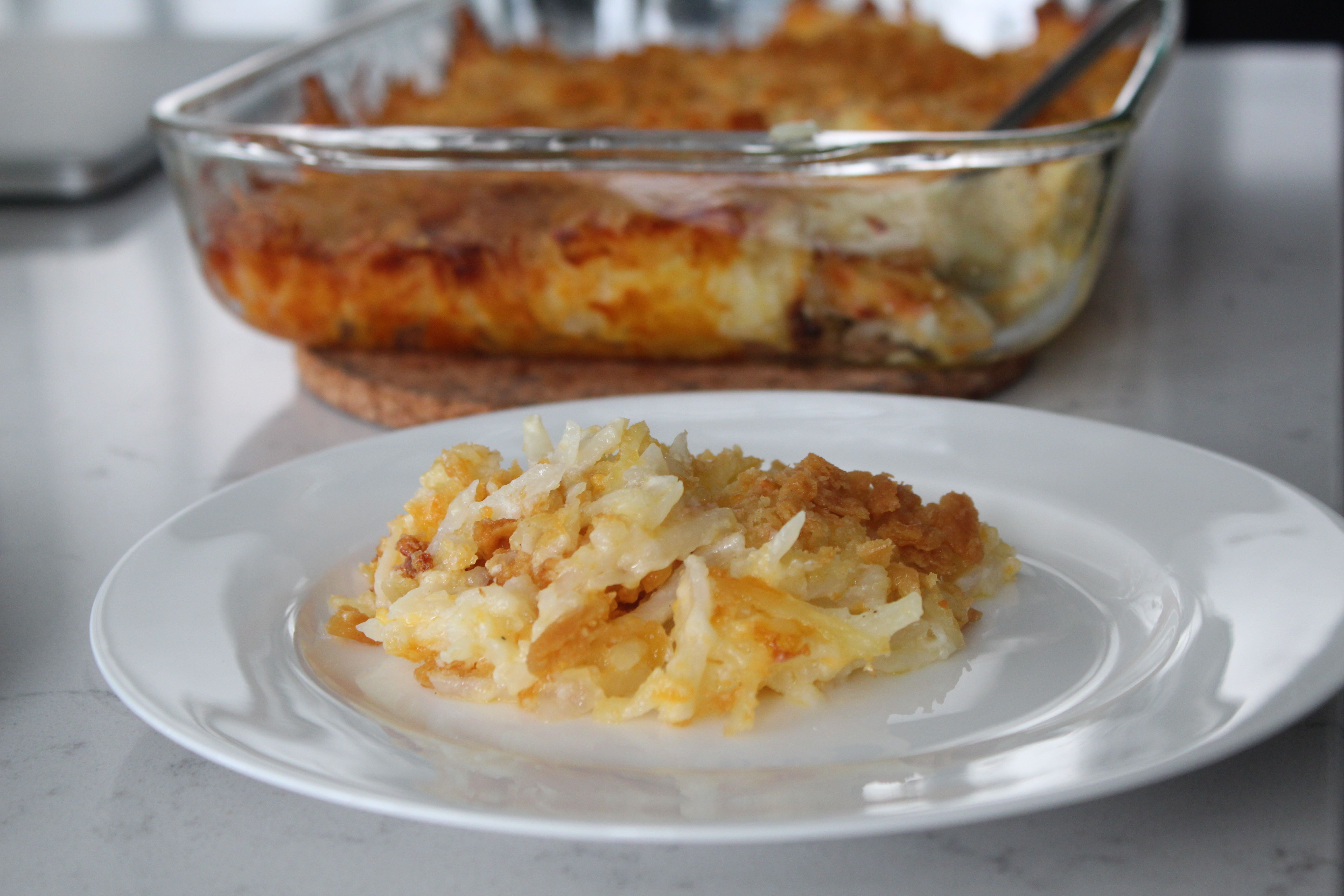 grandmas hash brown casserole recipe