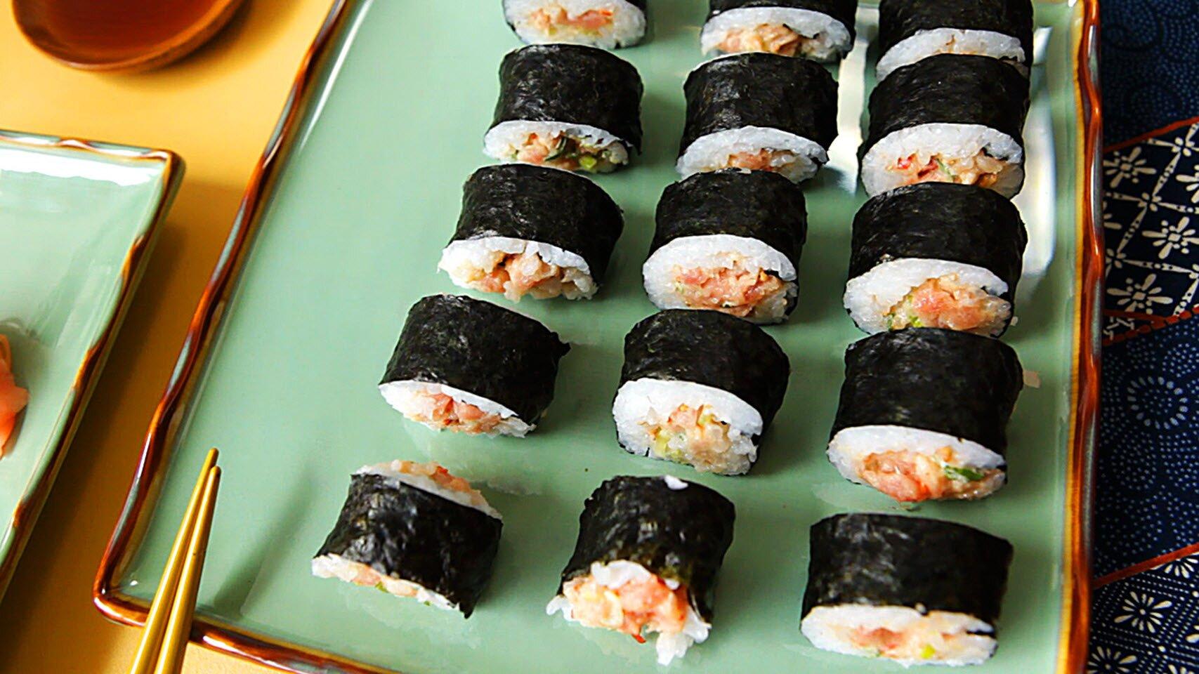 spicy tuna rolls recipe