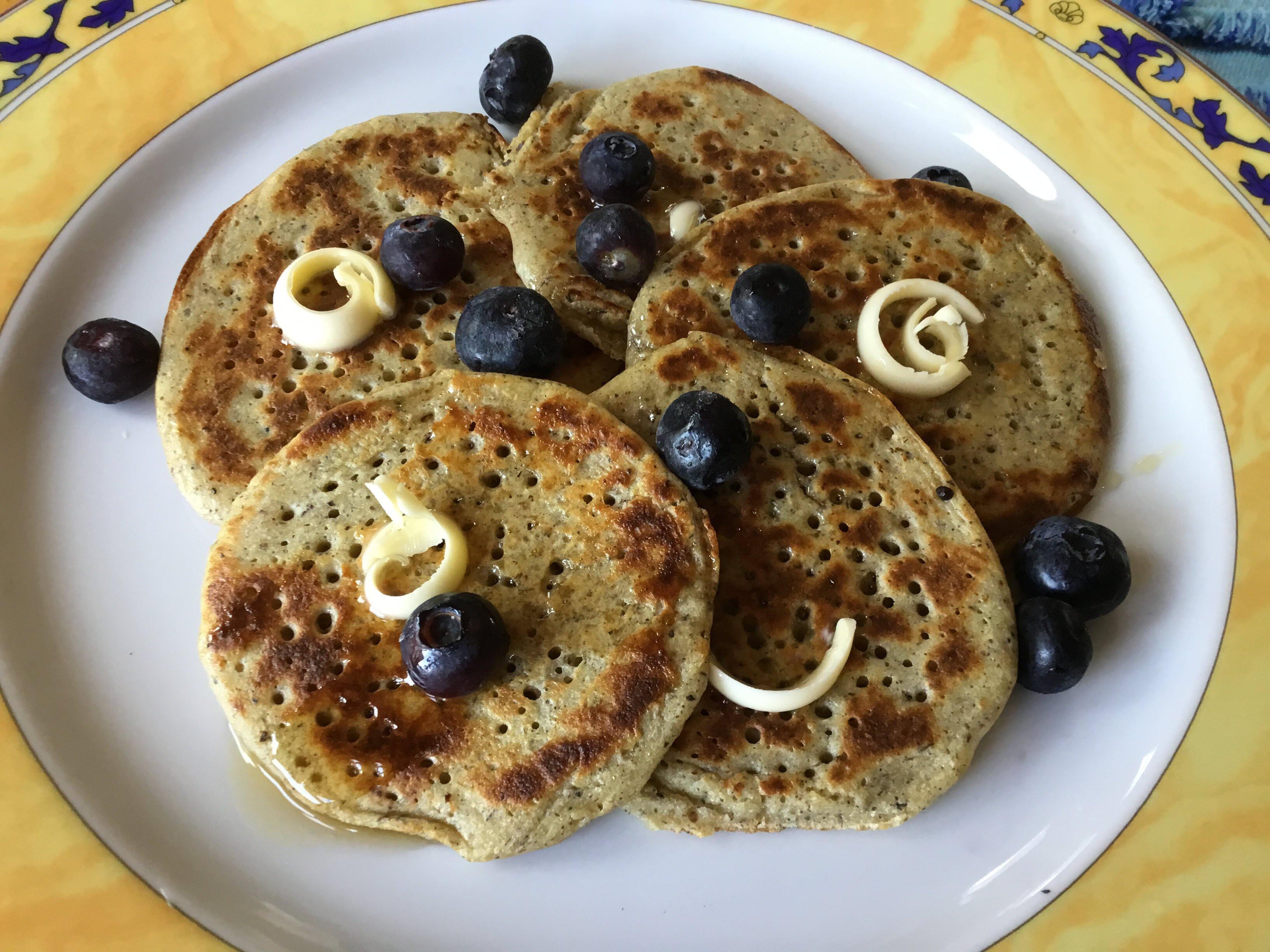 overnight sourdough buckwheat pancakes recipe