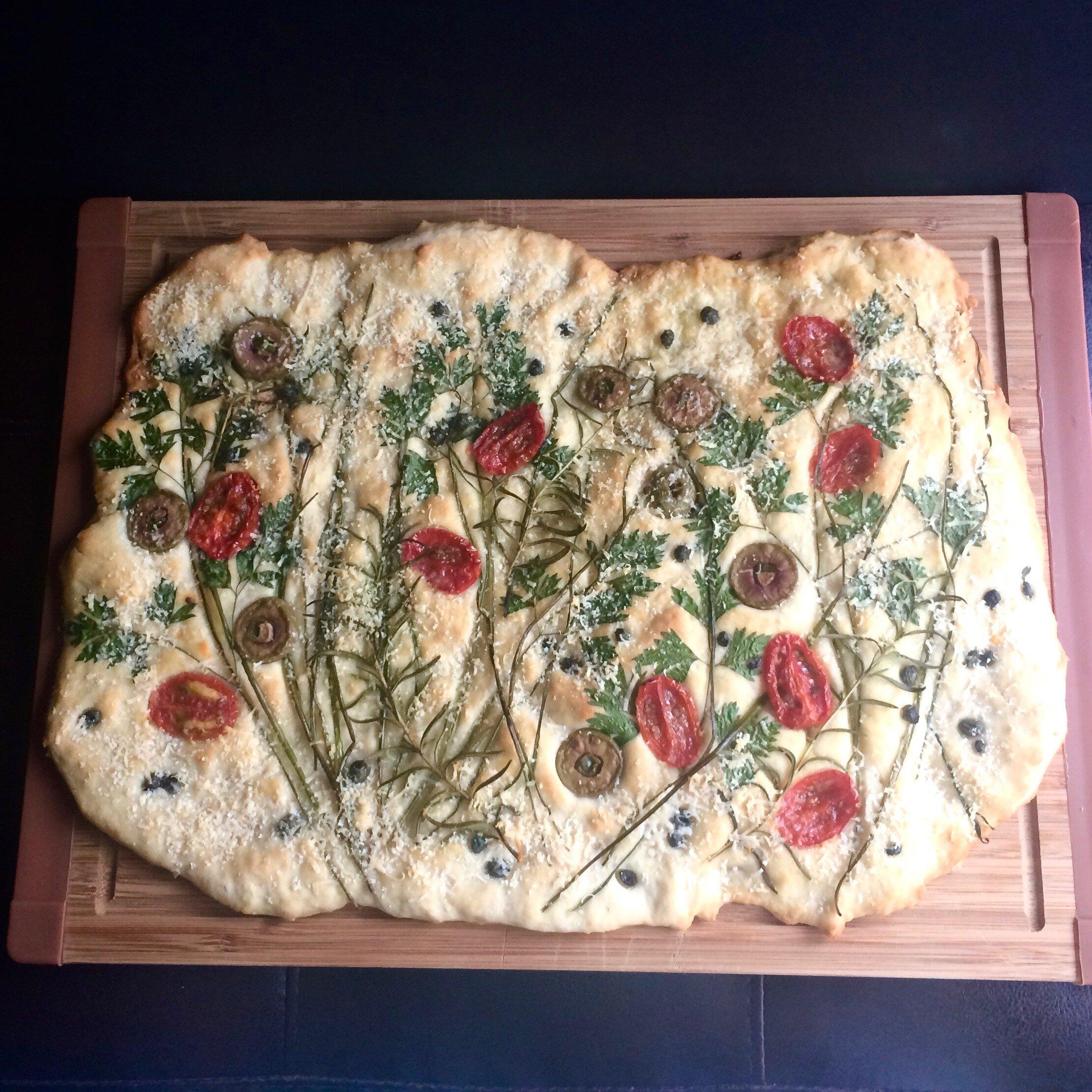 exquisite yeastless focaccia recipe