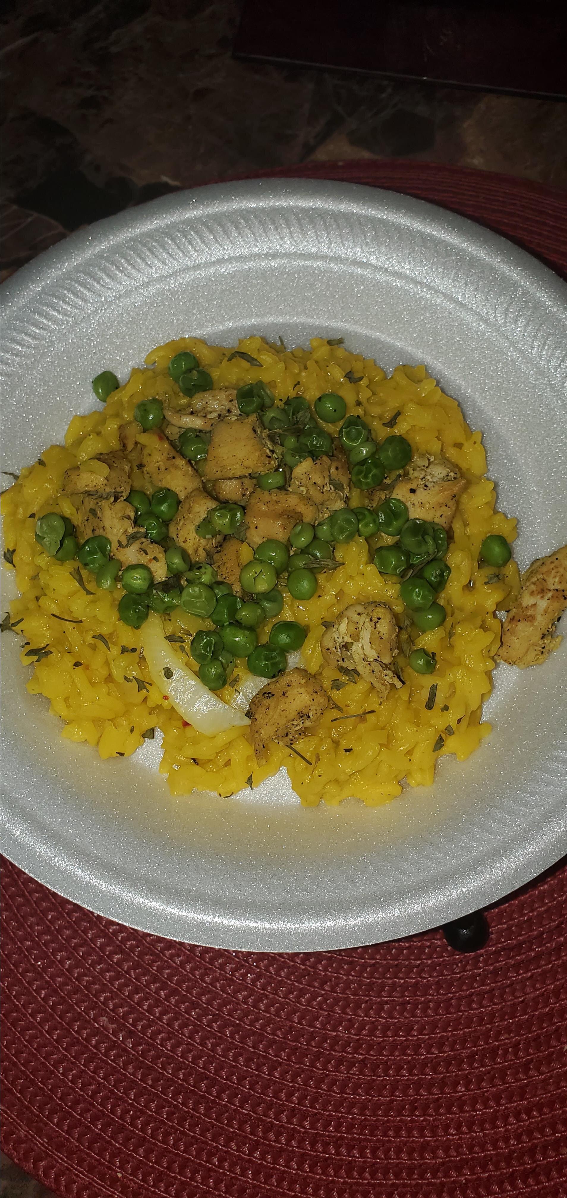 basic yellow rice recipe
