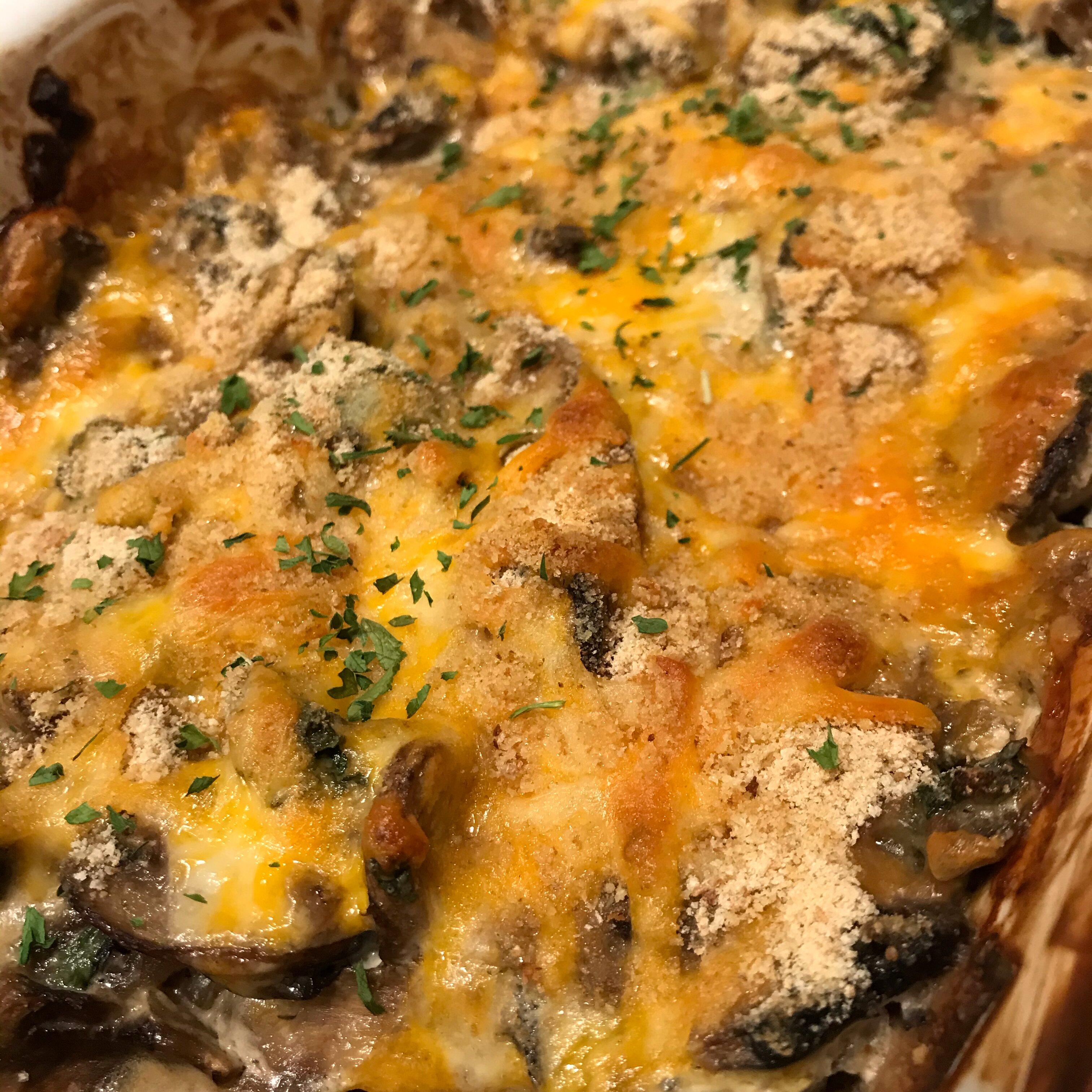 easy russian mushroom bake recipe