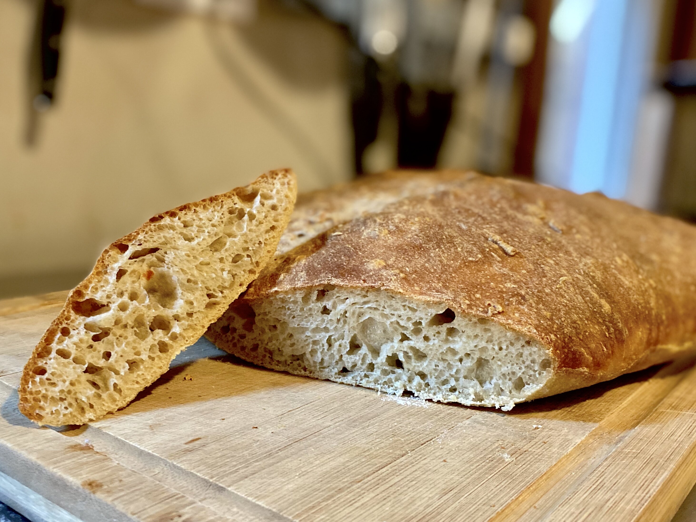 no knead country bread