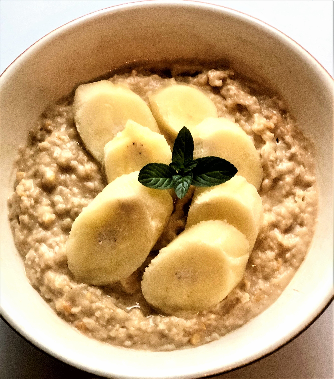 easy peanut butter banana oatmeal recipe