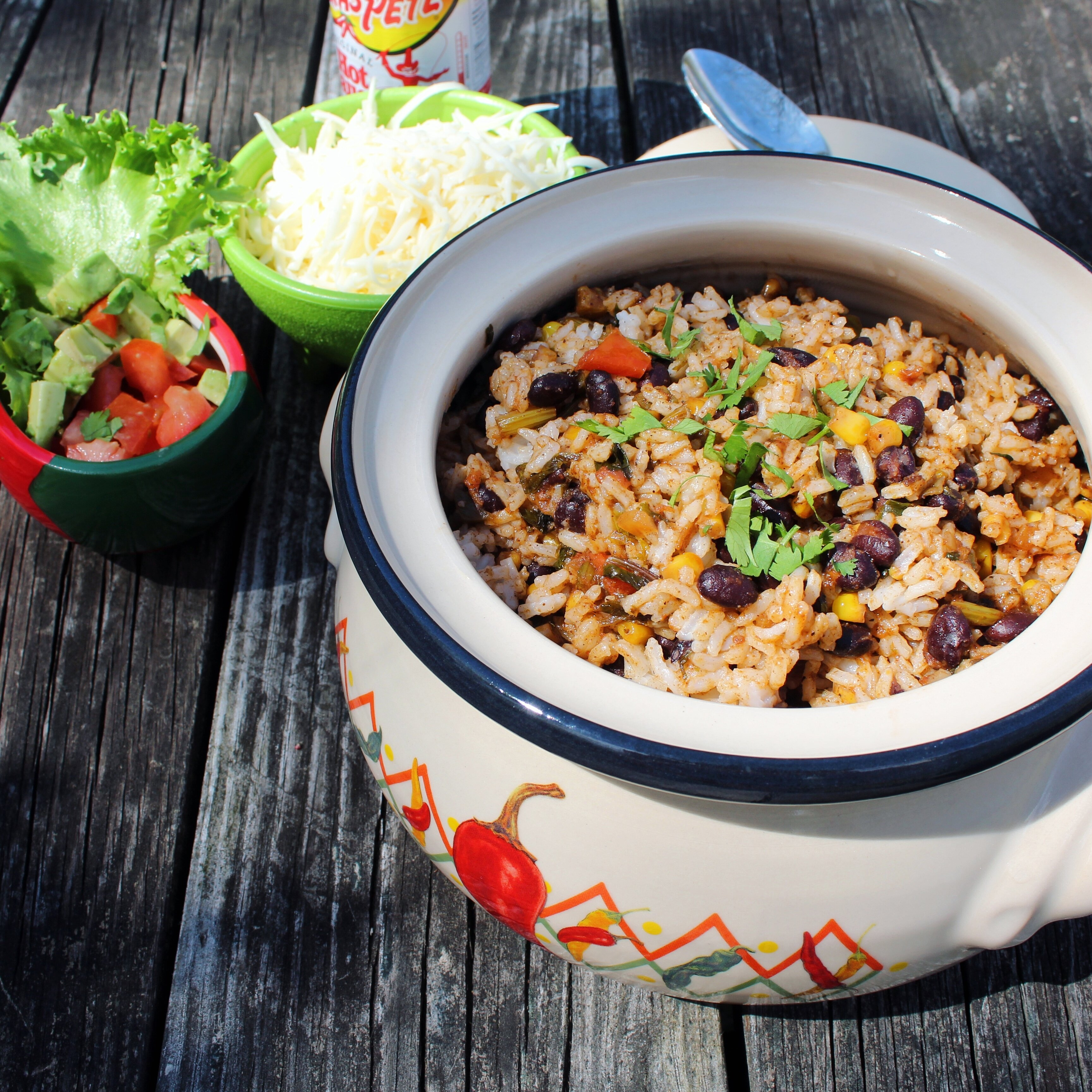 mexican black beans and rice recipe