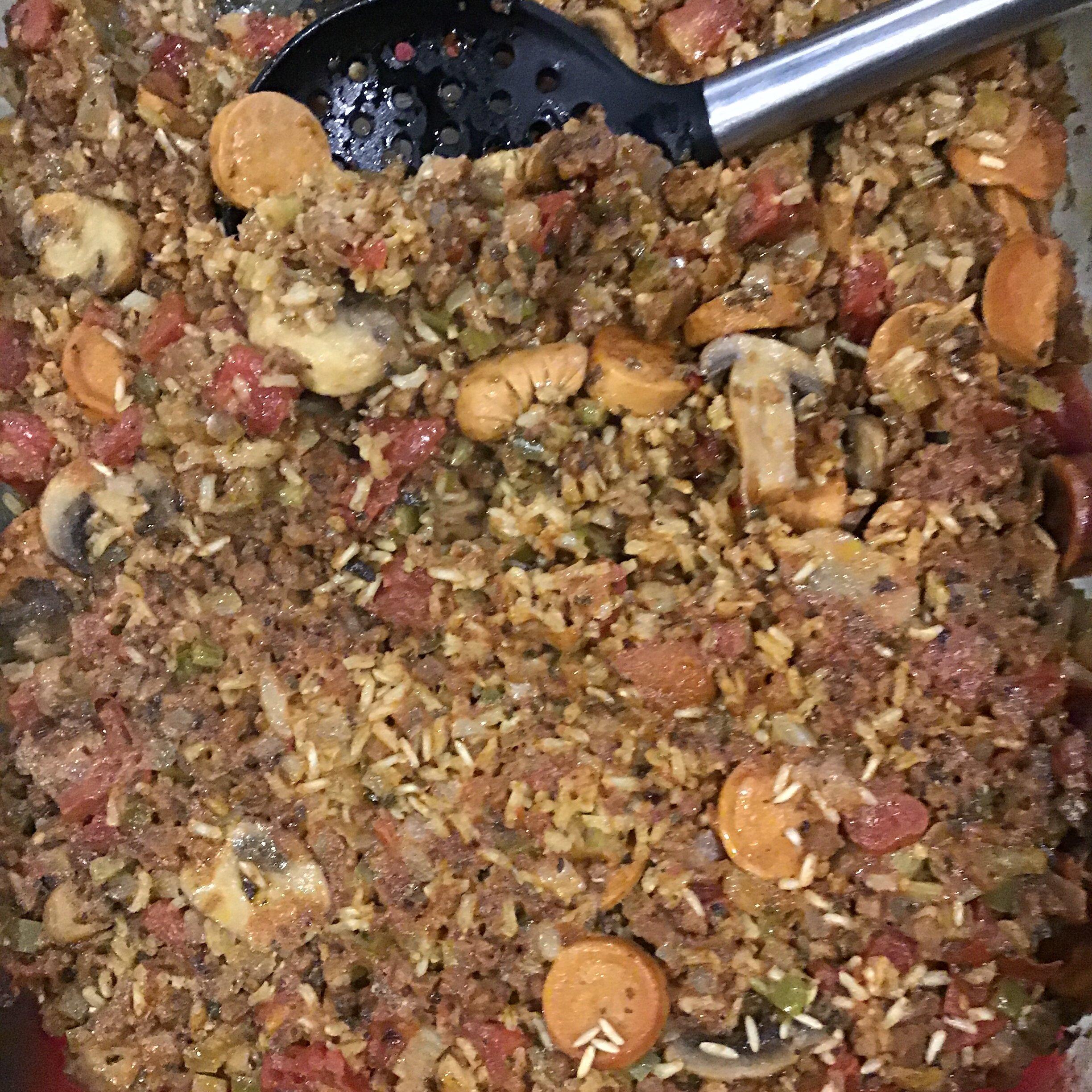 vegetarian jambalaya recipe
