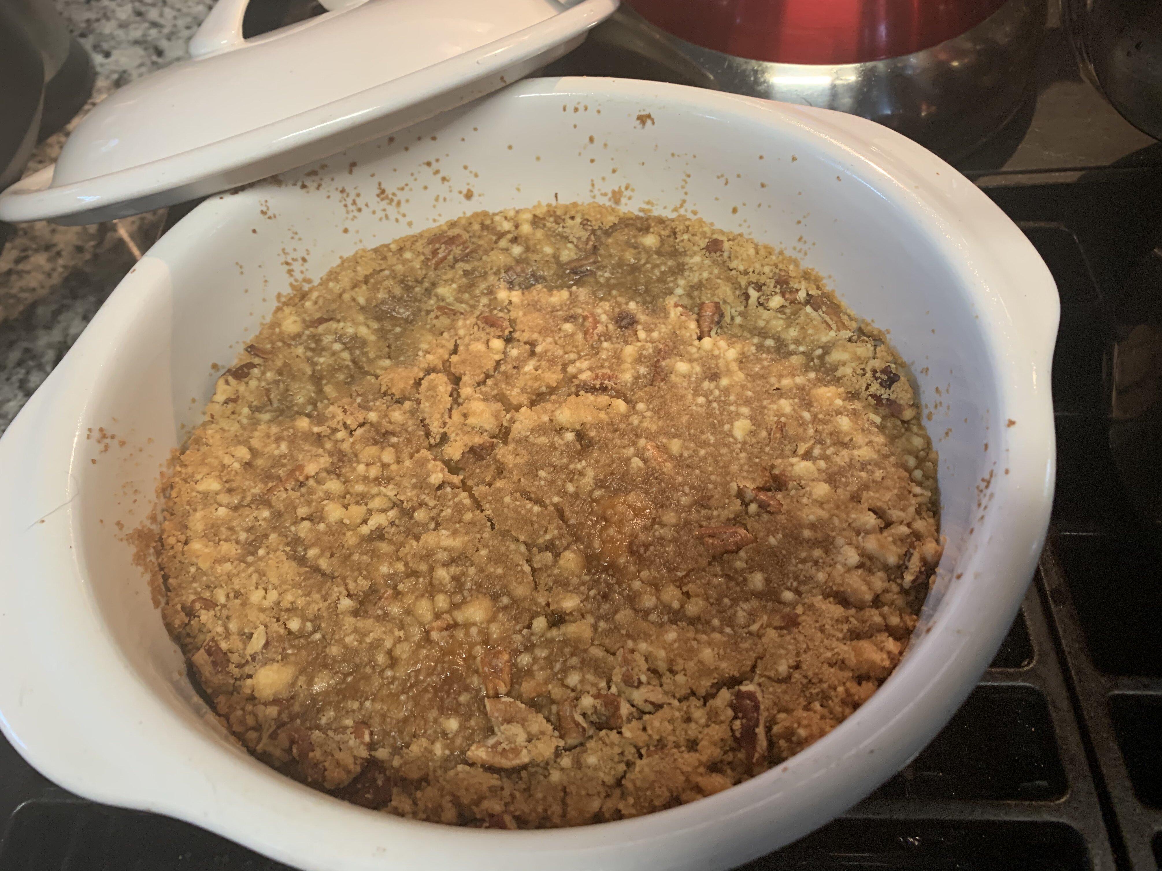 mashed sweet potato bake recipe