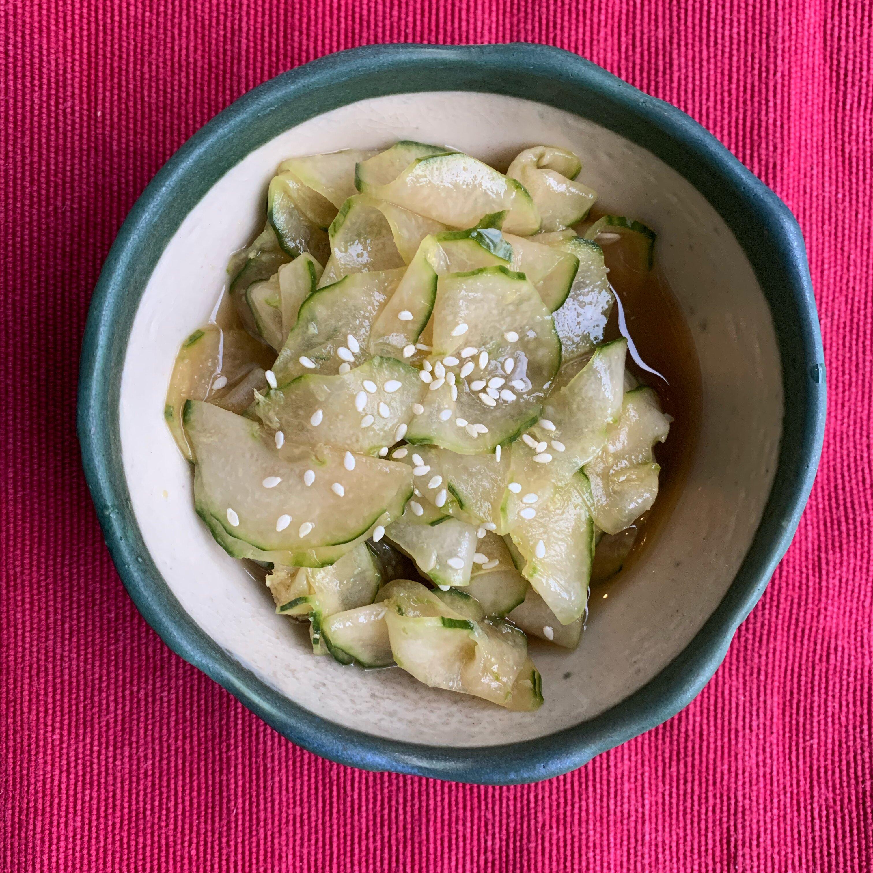 japanese cucumber sunomono recipe