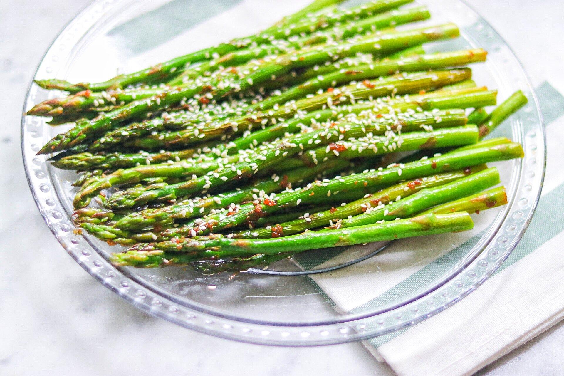 grilled soy sesame asparagus recipe