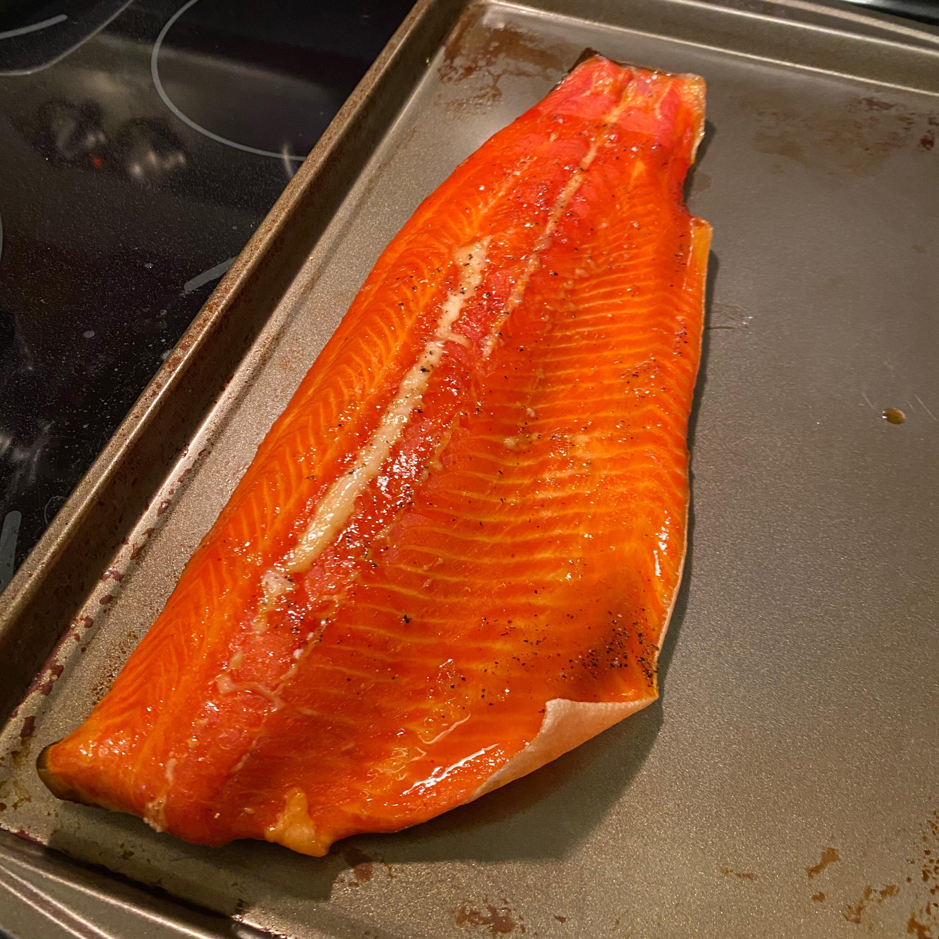 dry brined smoked salmon recipe