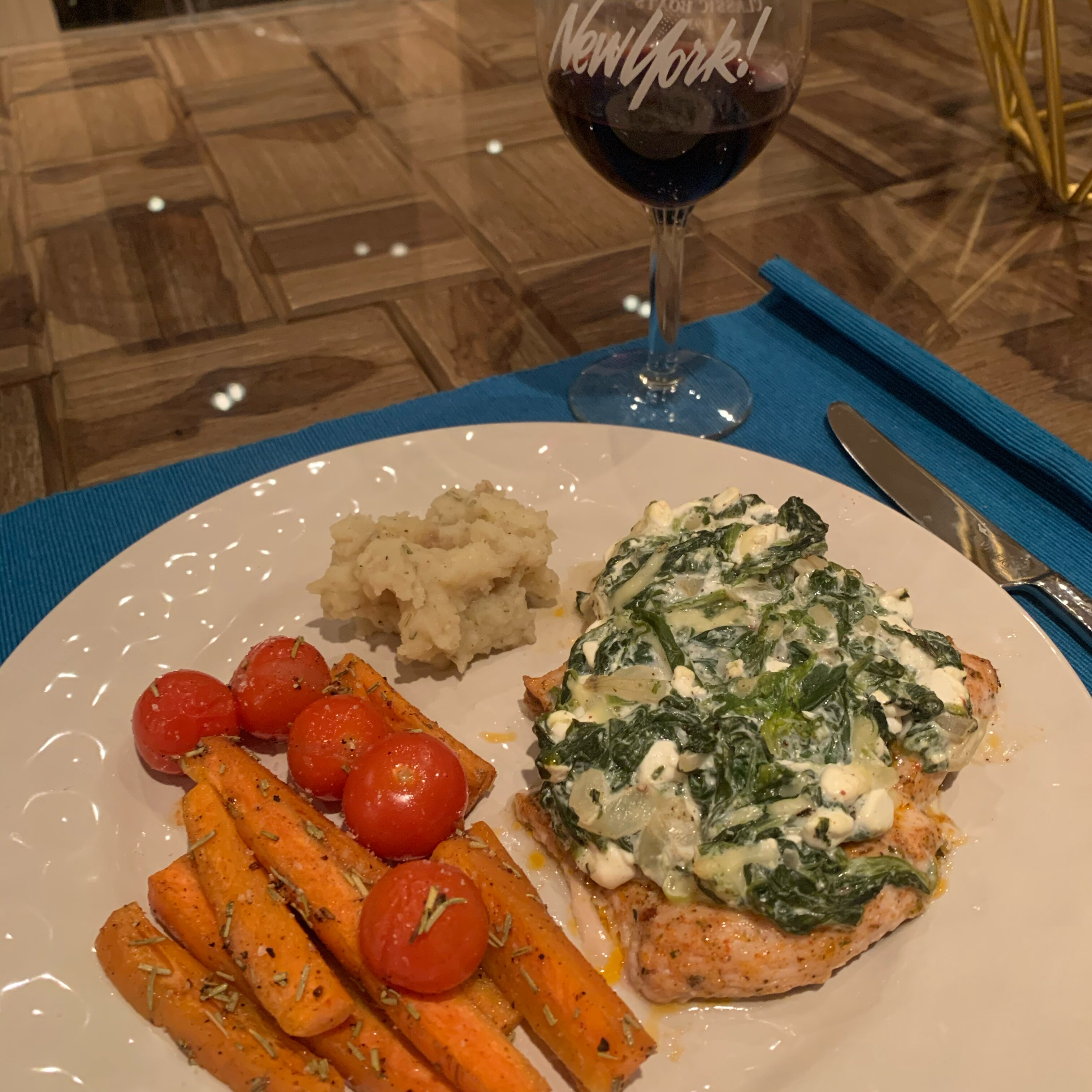 cottage cheese spinach chicken recipe