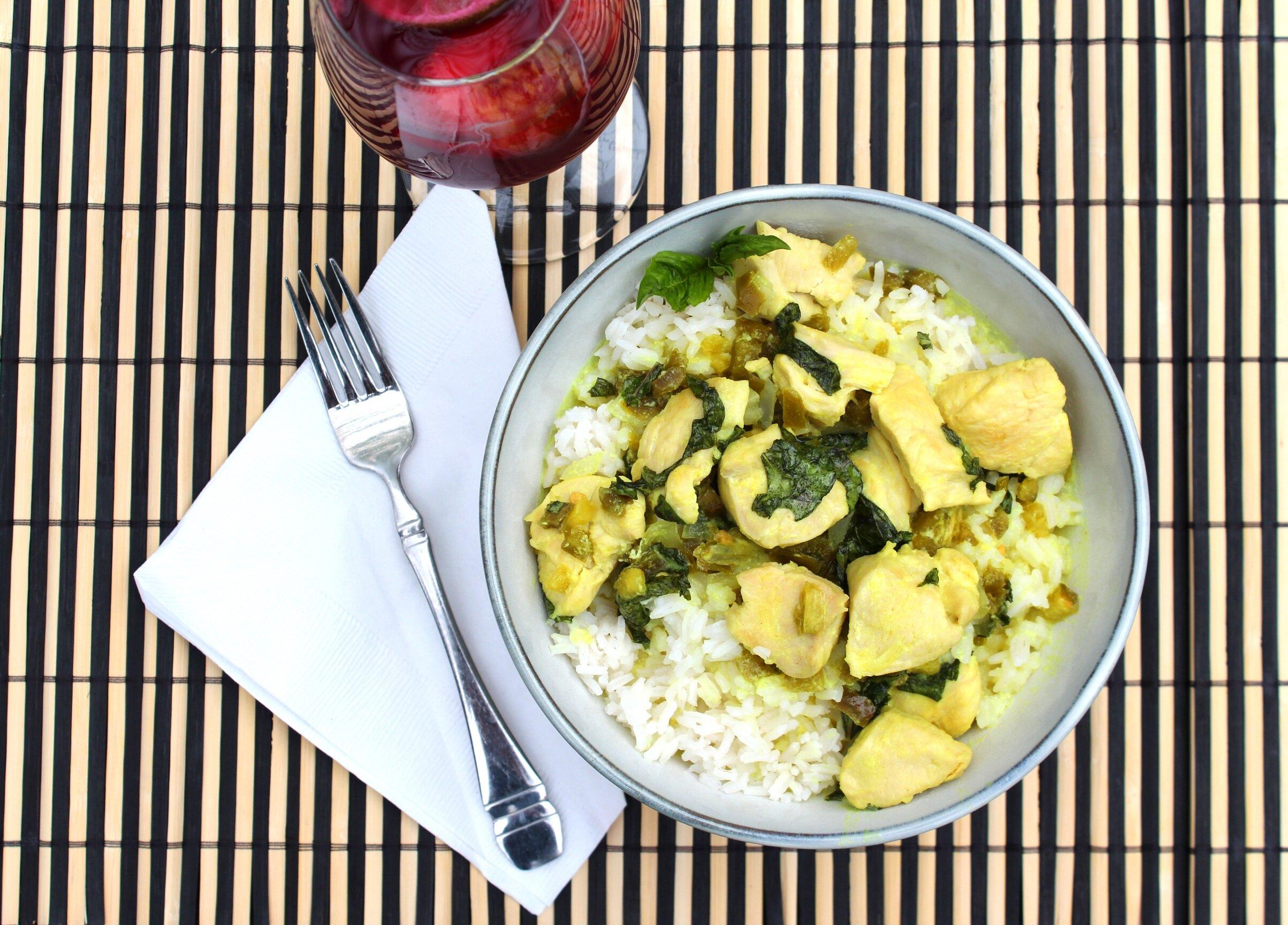 spicy thai basil chicken recipe
