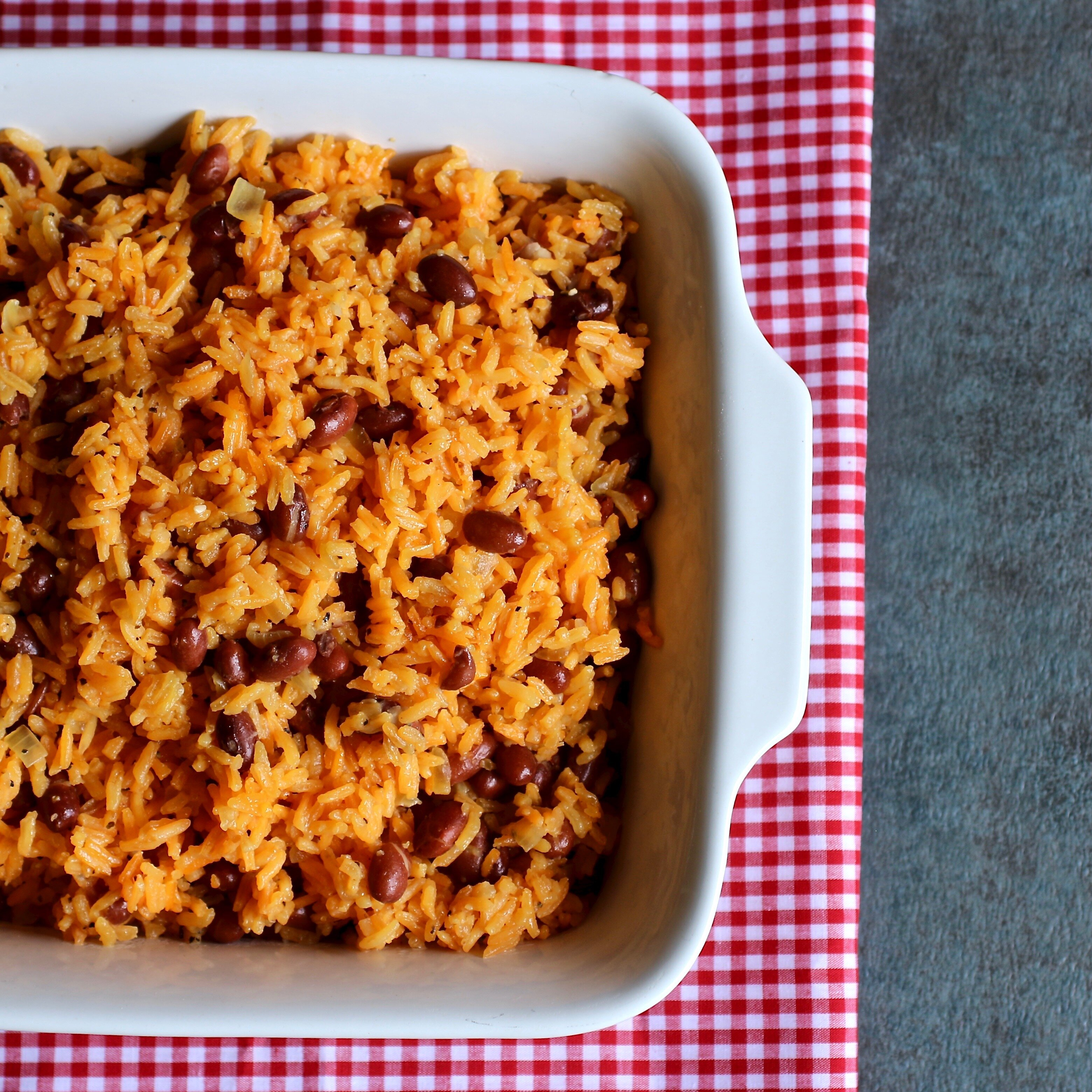 flavorful spanish rice and beans recipe