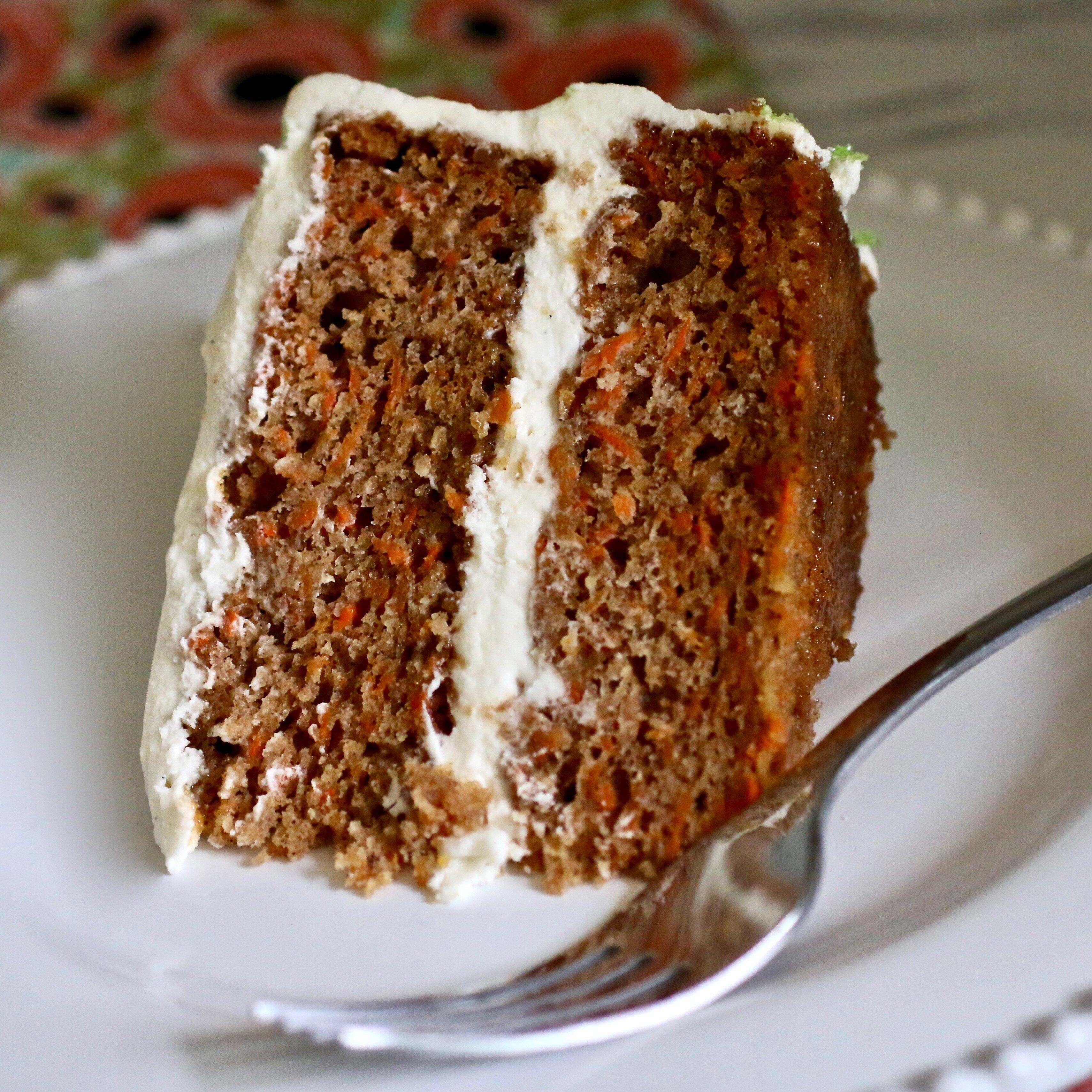 family favorite gluten free carrot cake recipe