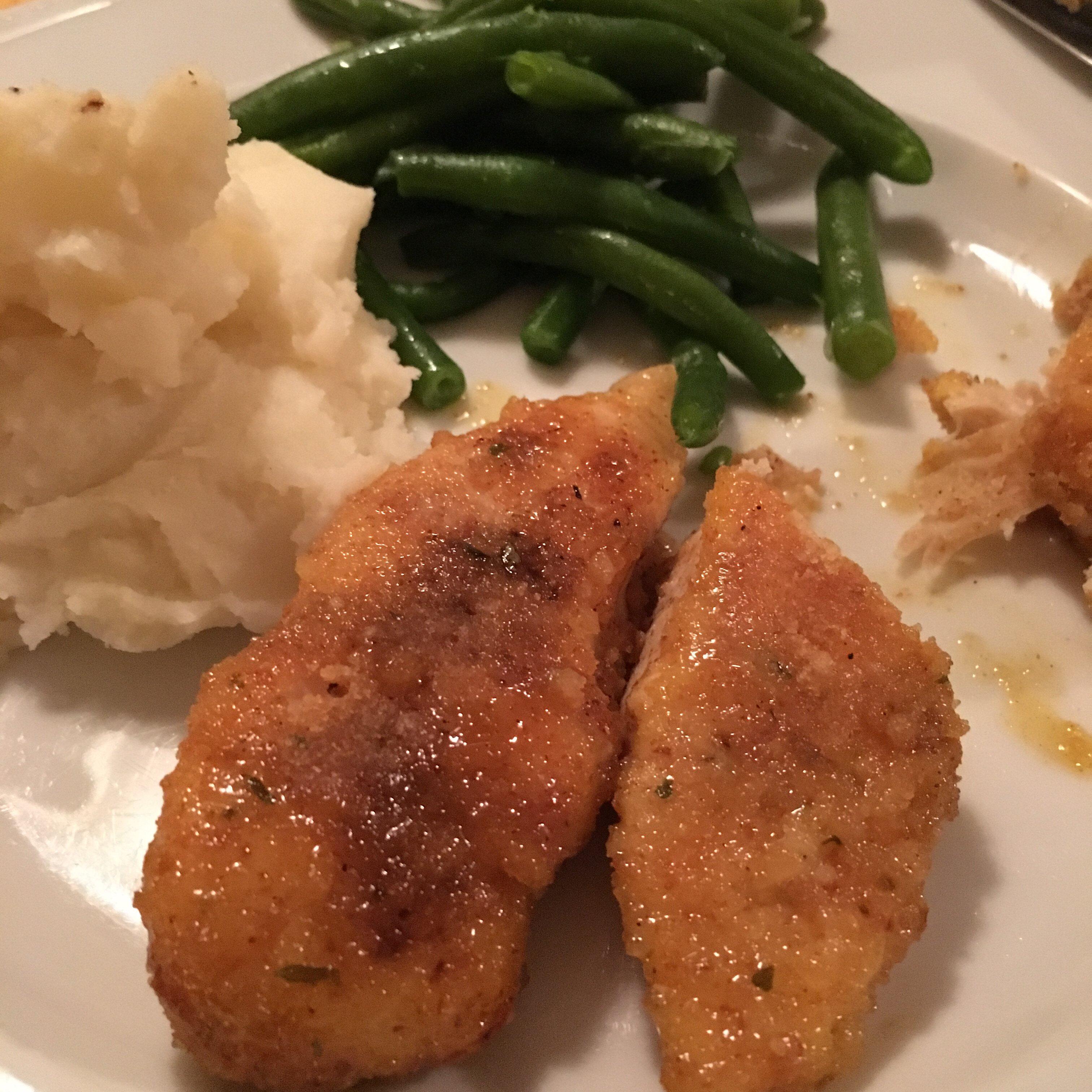 lemon chicken tenders recipe