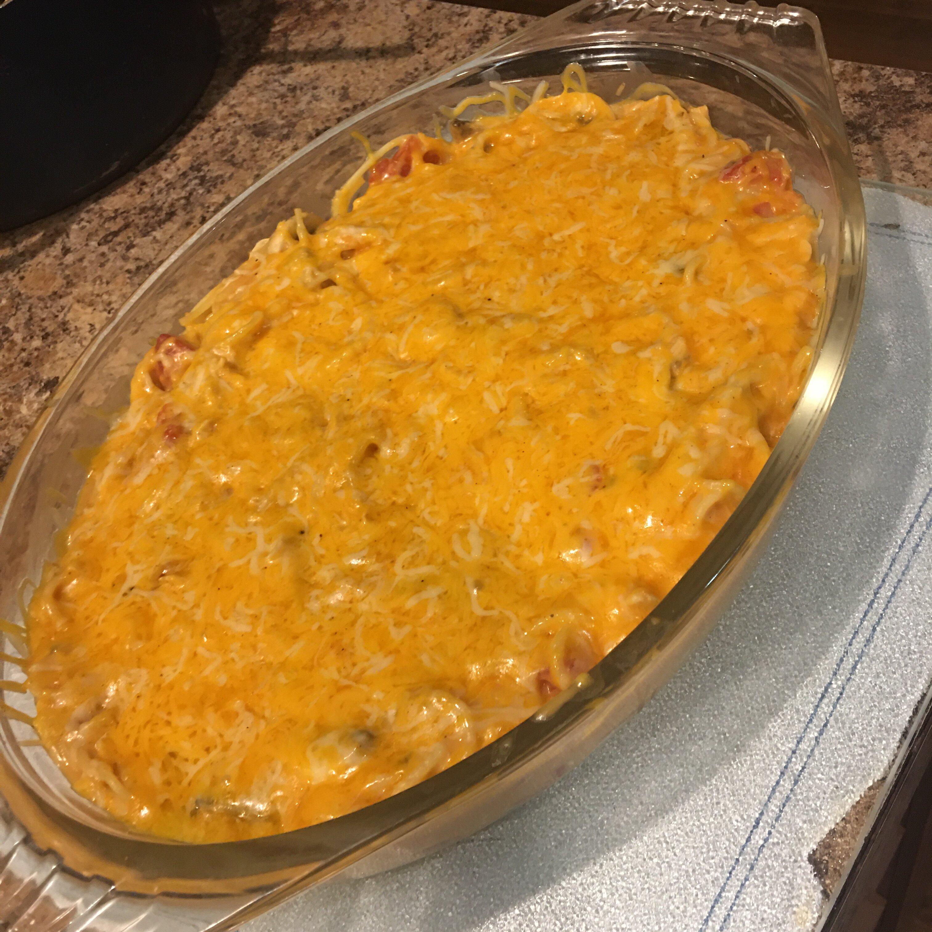 quick and easy chicken spaghetti recipe