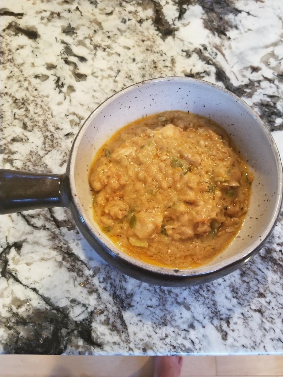 thai peanut chicken chili