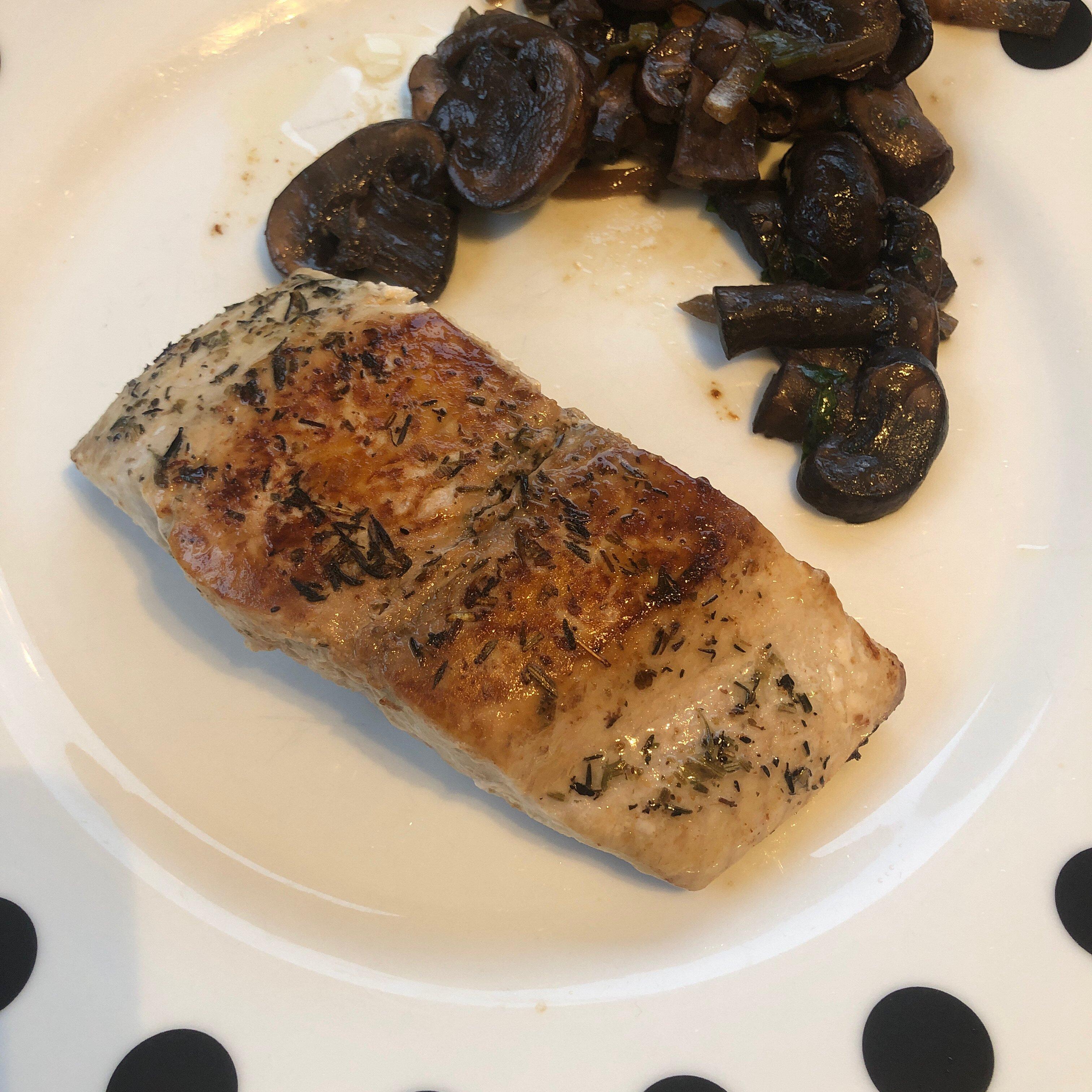 grilled halibut ii recipe