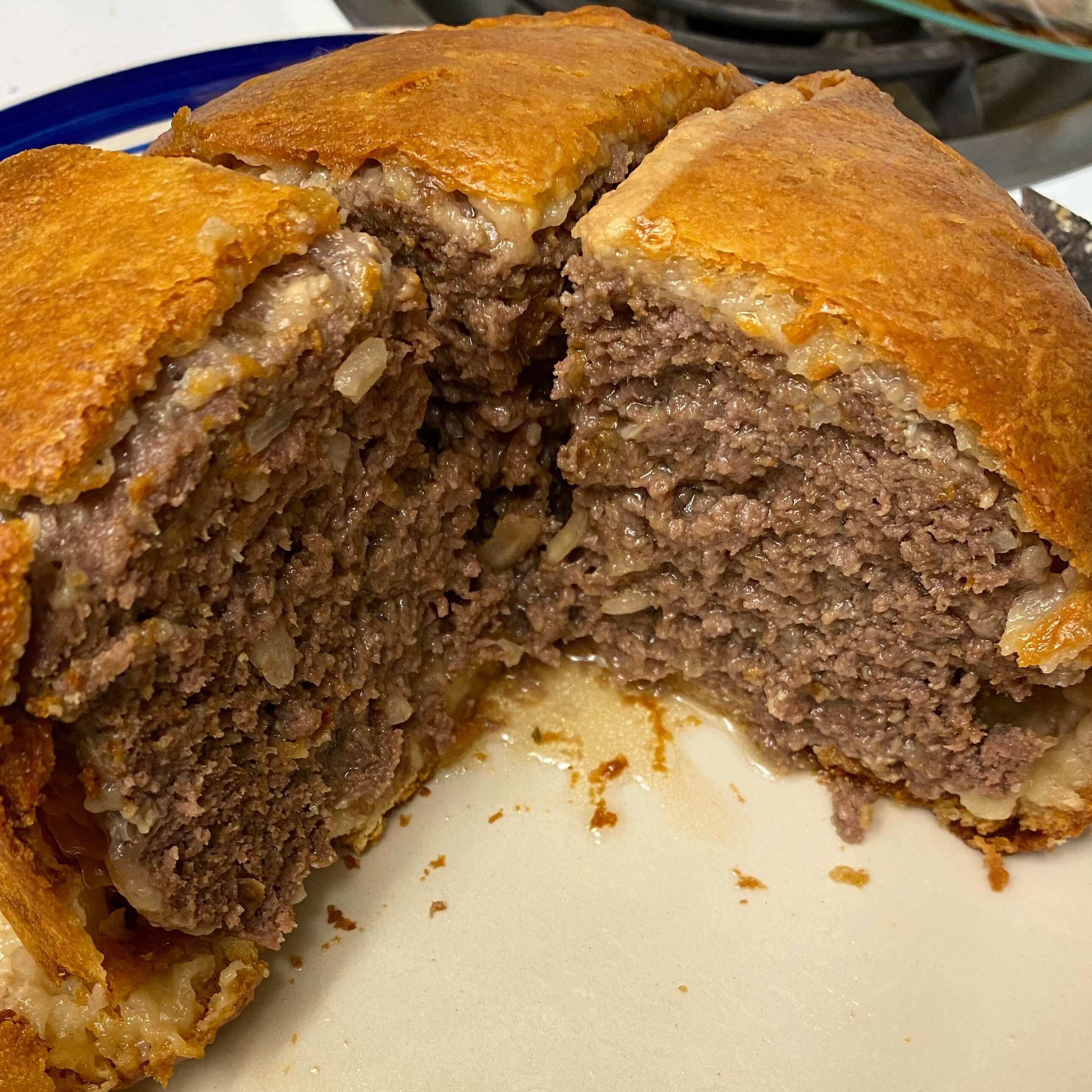 ground beef wellington with fennel recipe