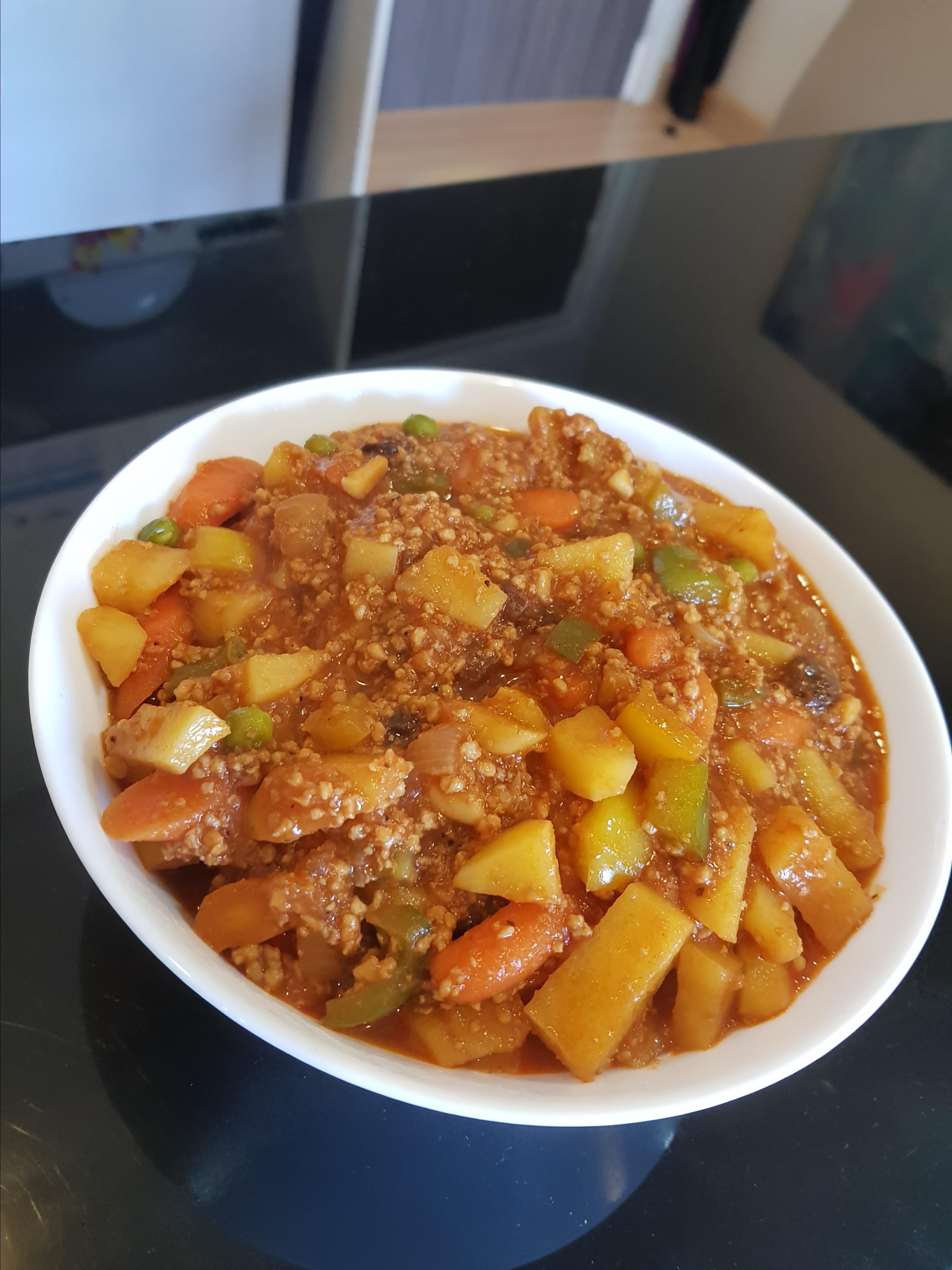 filipino beef giniling afritada style recipe