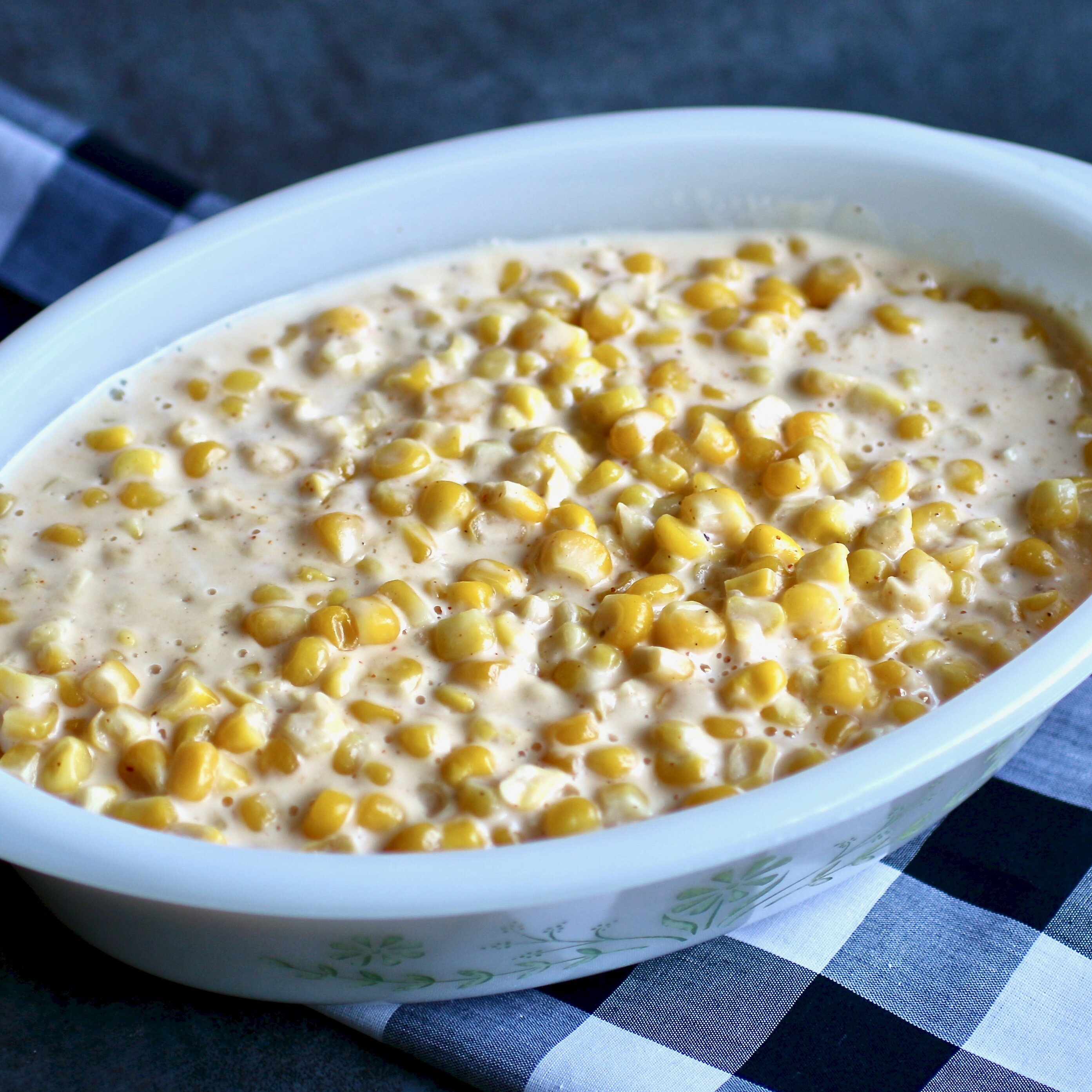instant pot creamed corn recipe