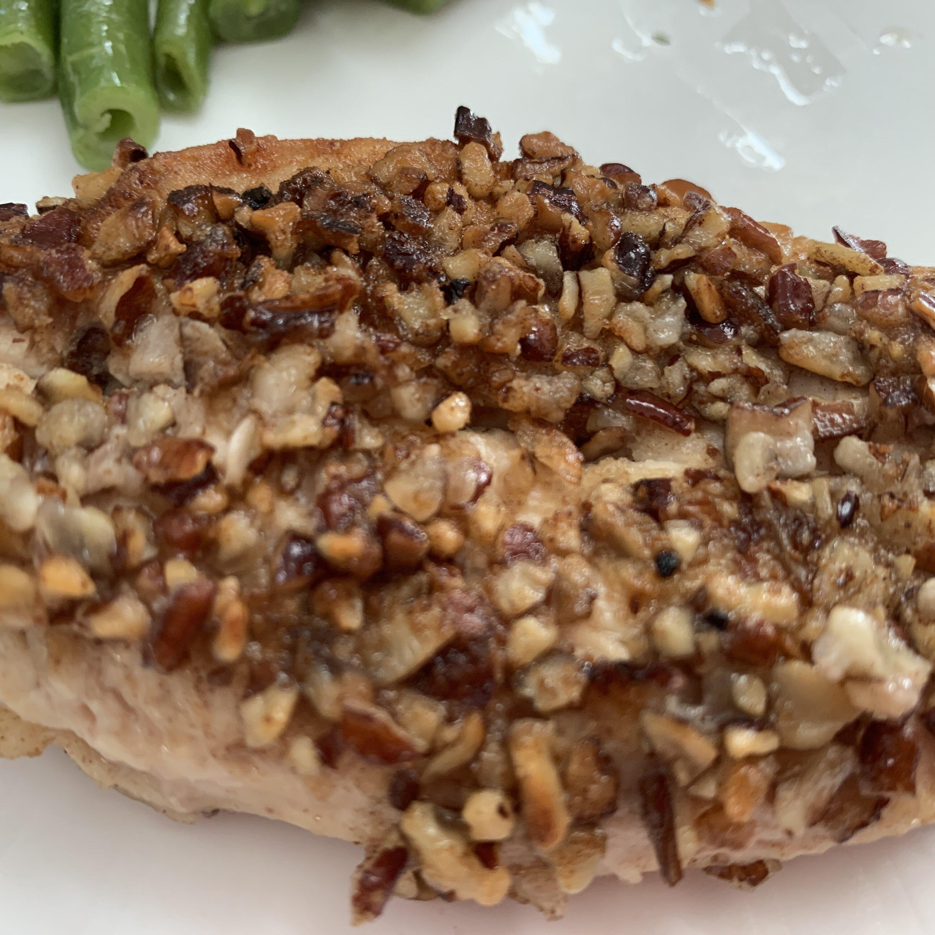 pecan breaded chicken breasts recipe