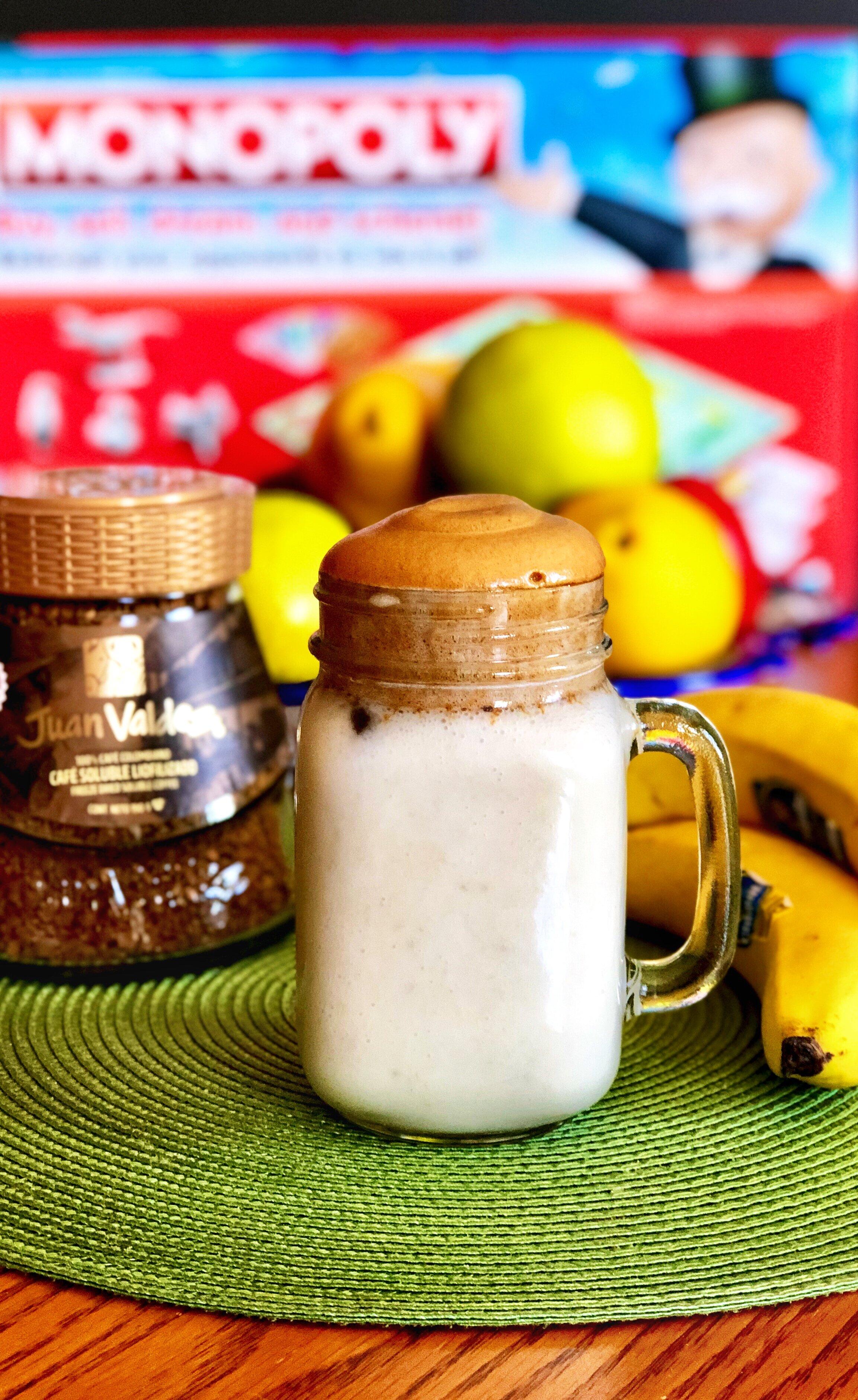 vegan banana whipped iced coffee recipe